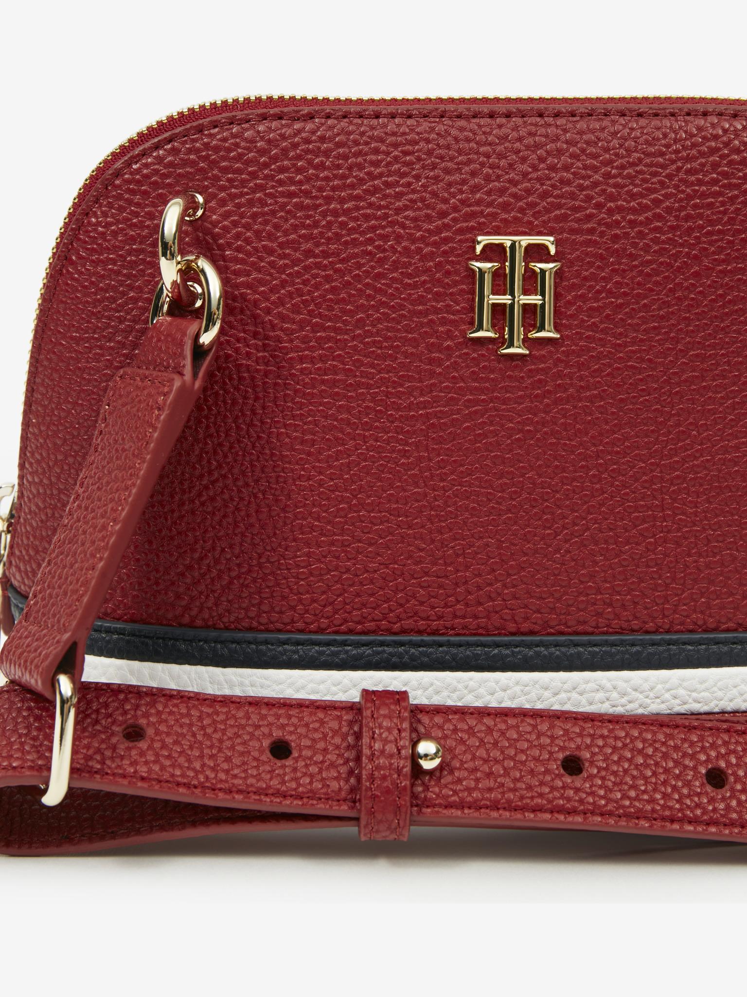 Tommy Hilfiger red crossbody handbag Element