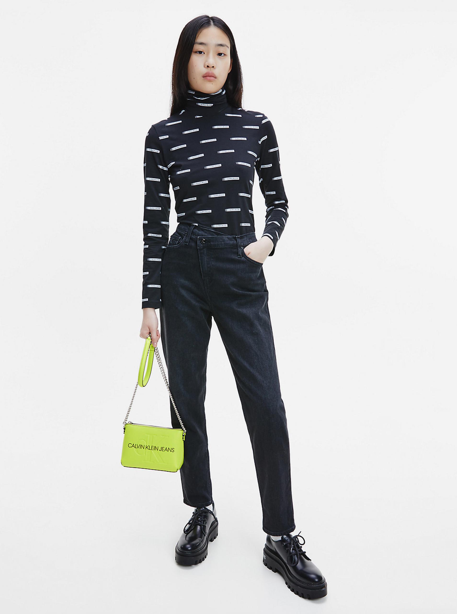 Calvin Klein green crossbody handbag