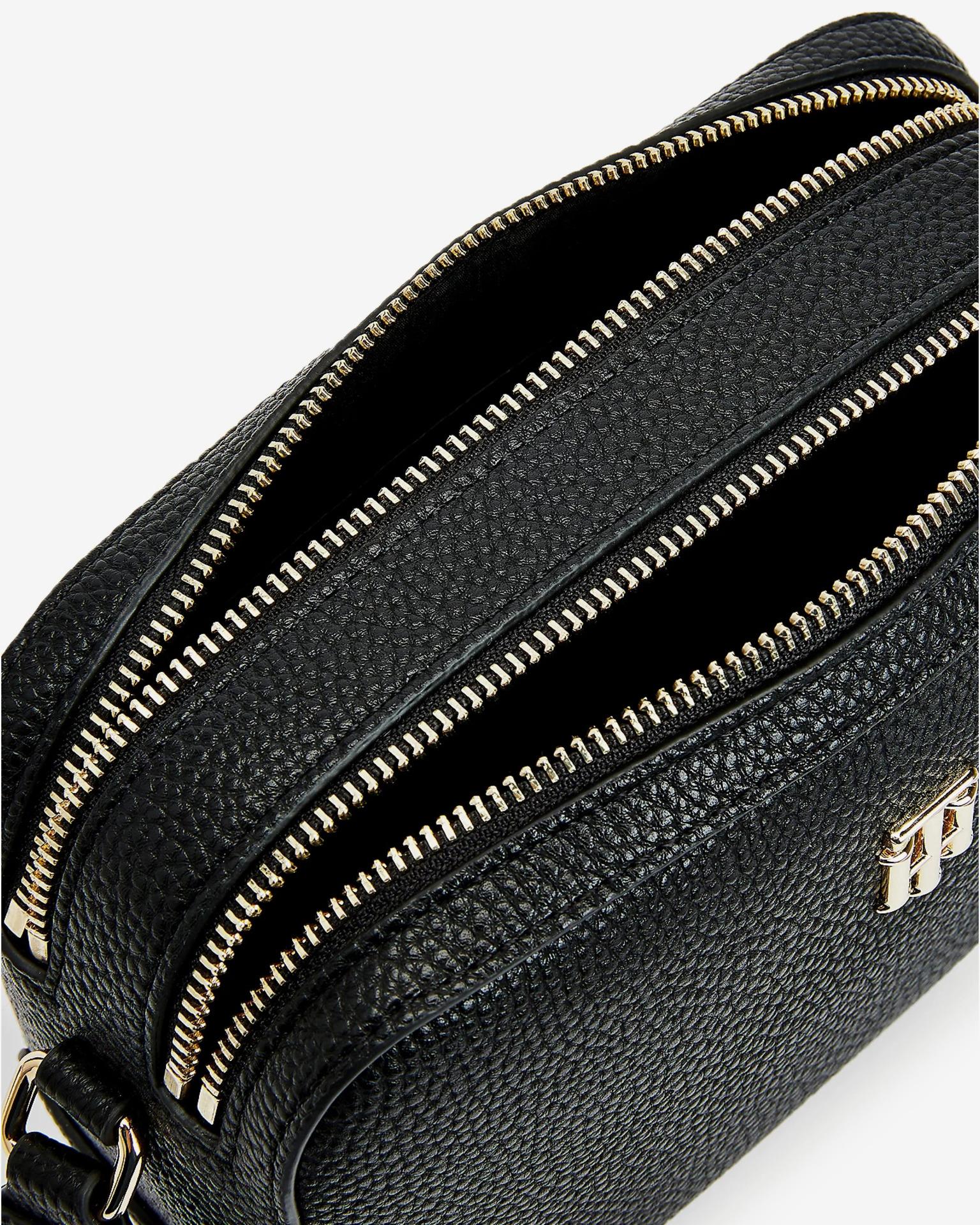Tommy Hilfiger black crossbody handbag Essence Camera