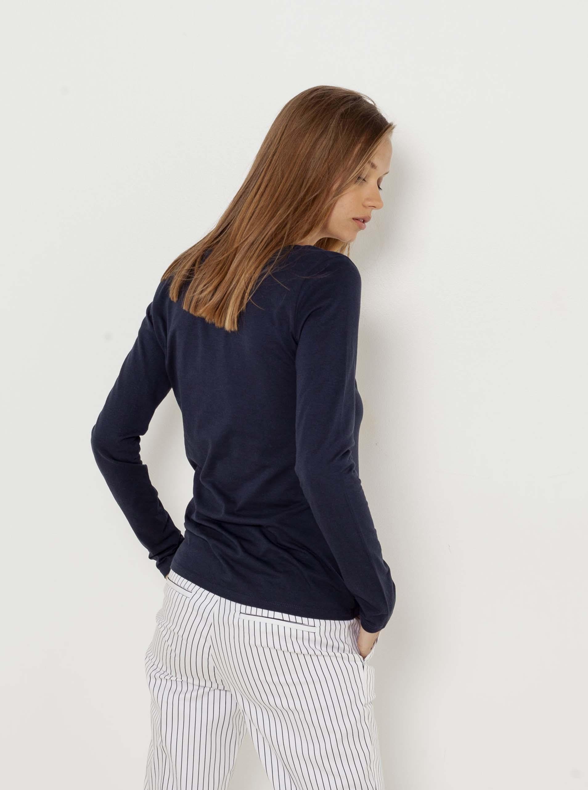 CAMAIEU blue basic T-shirt