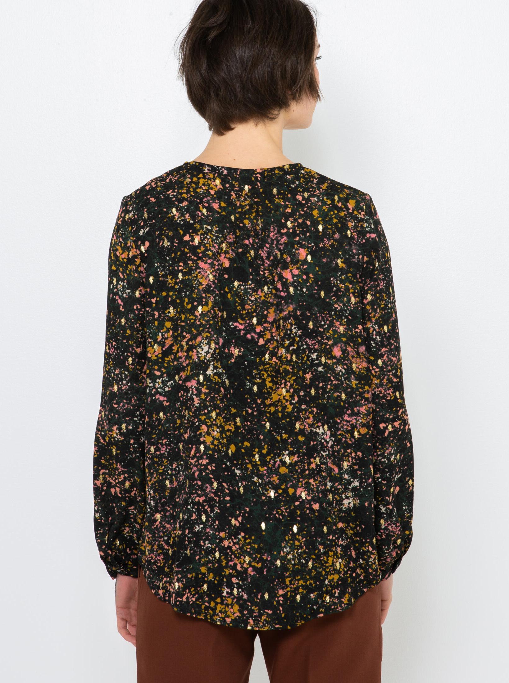 CAMAIEU blouse with pattern