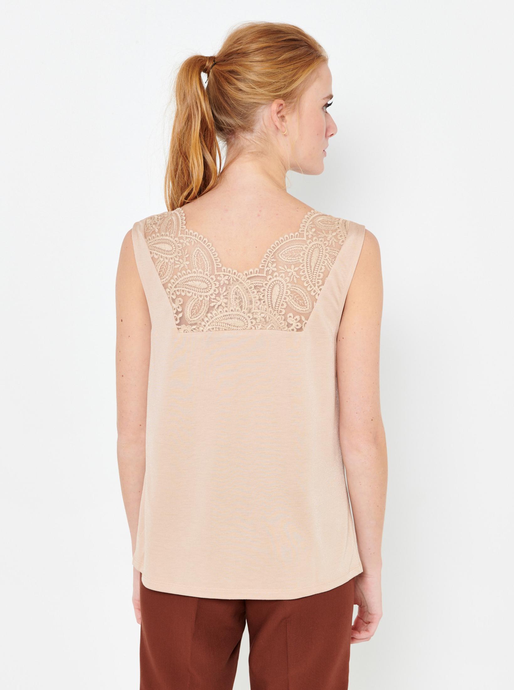 CAMAIEU Women's blouse beige
