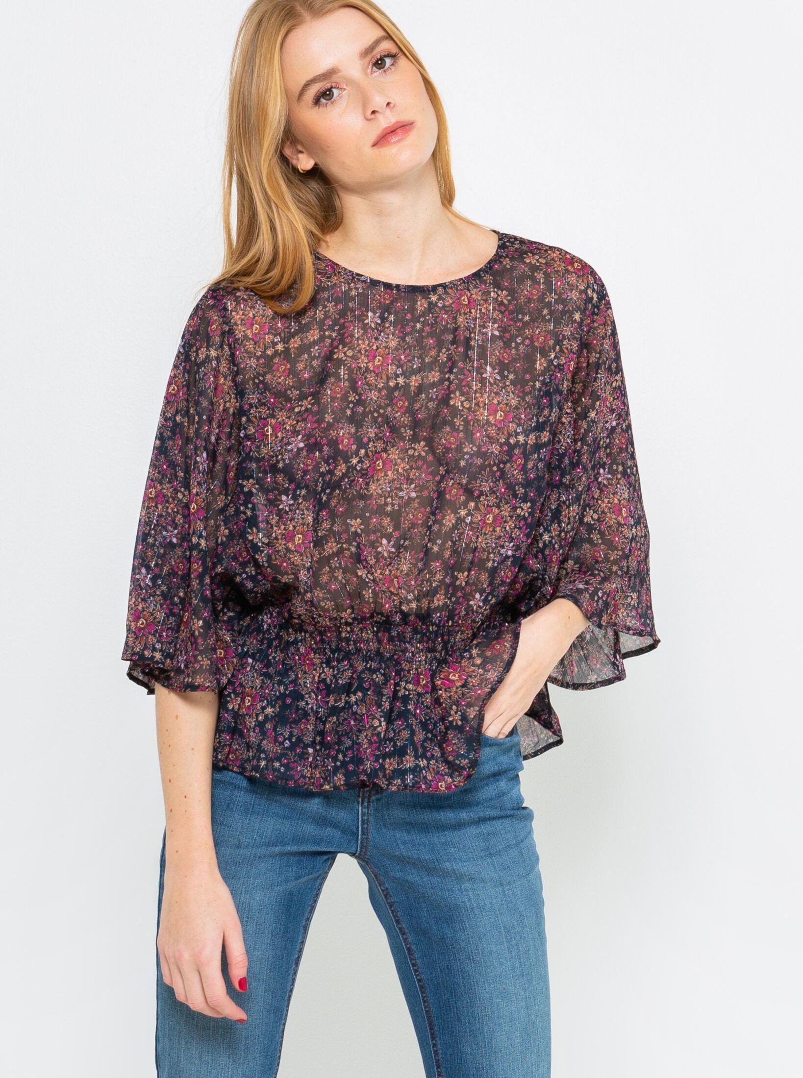 CAMAIEU Women's blouse violet
