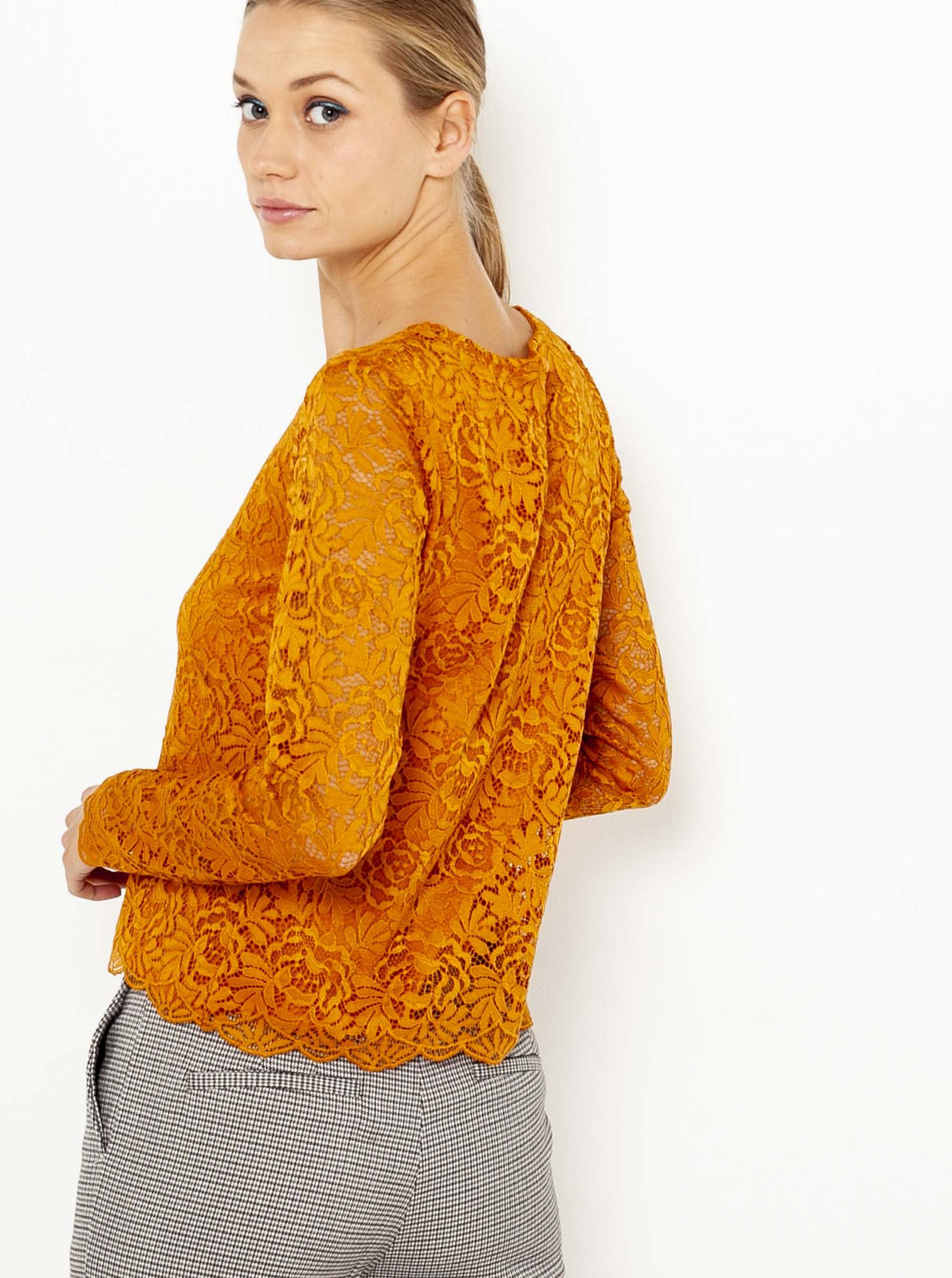 CAMAIEU Women's blouse orange