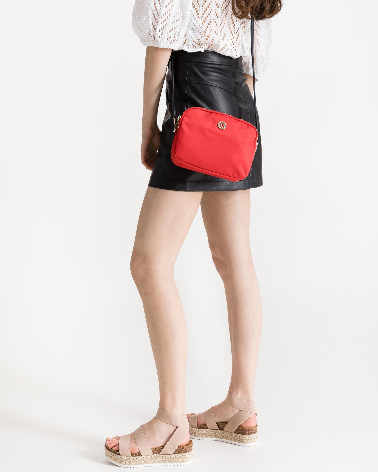 Tommy Hilfiger red crossbody handbag Poppy