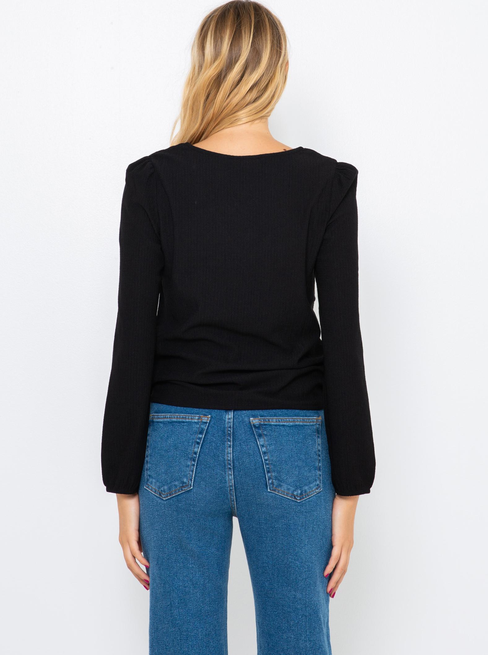 CAMAIEU black T-shirt