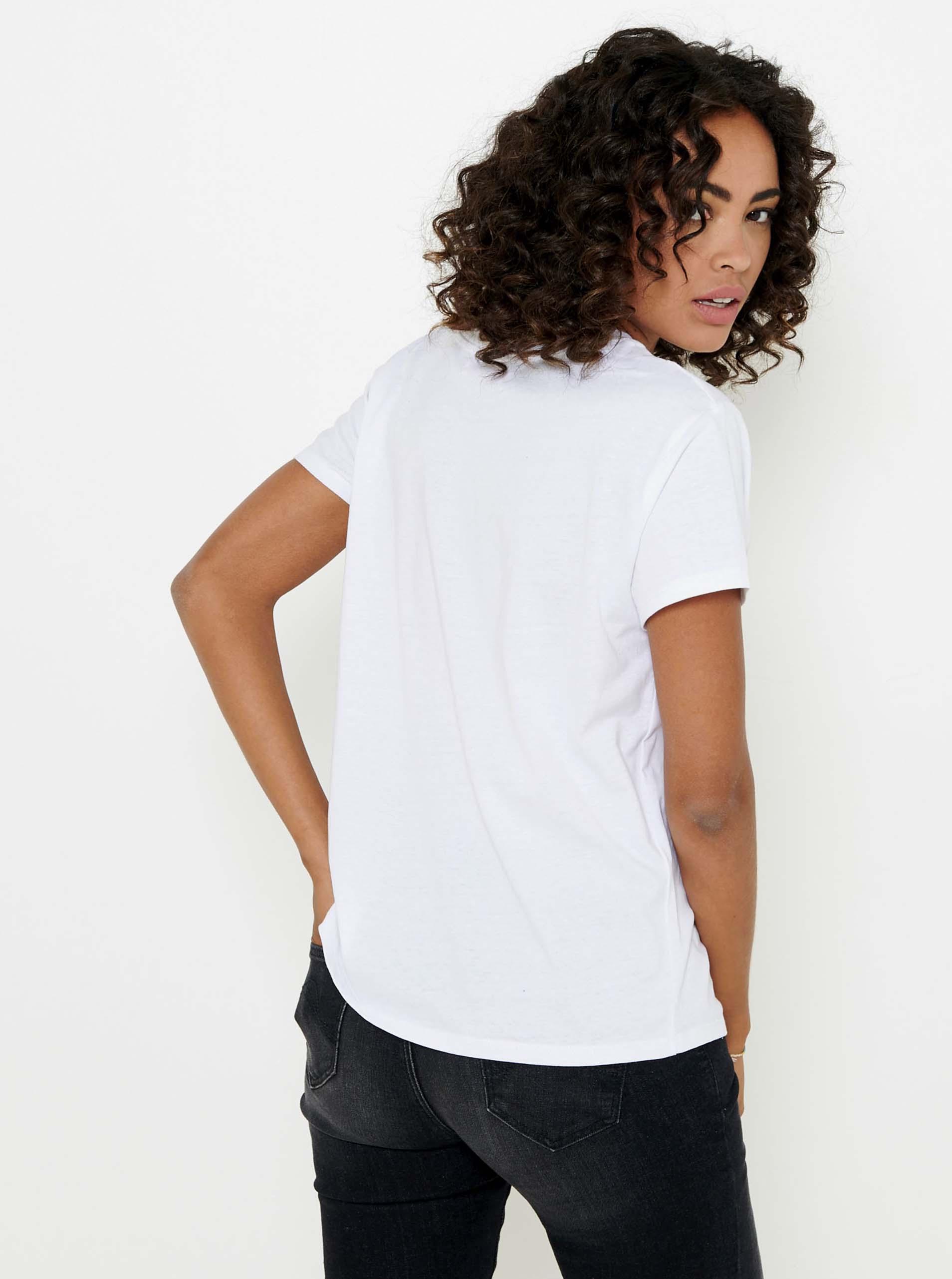 CAMAIEU Women's t-shirt white