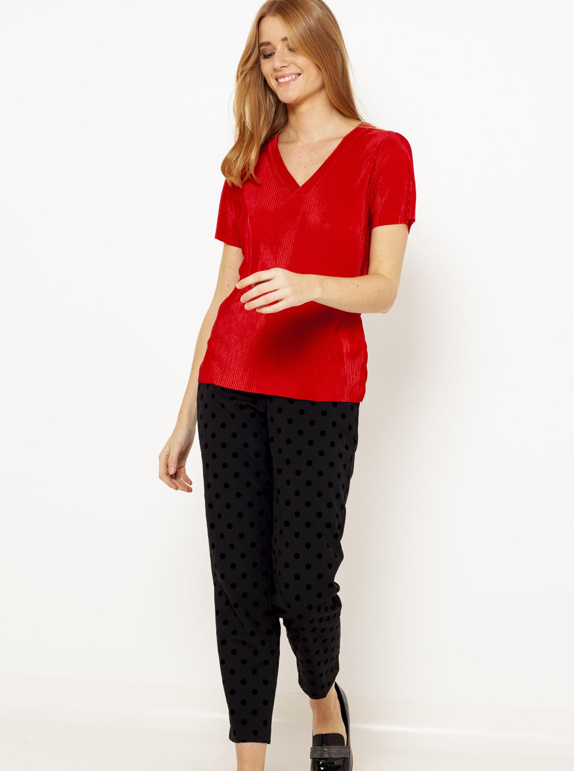 CAMAIEU red T-shirt