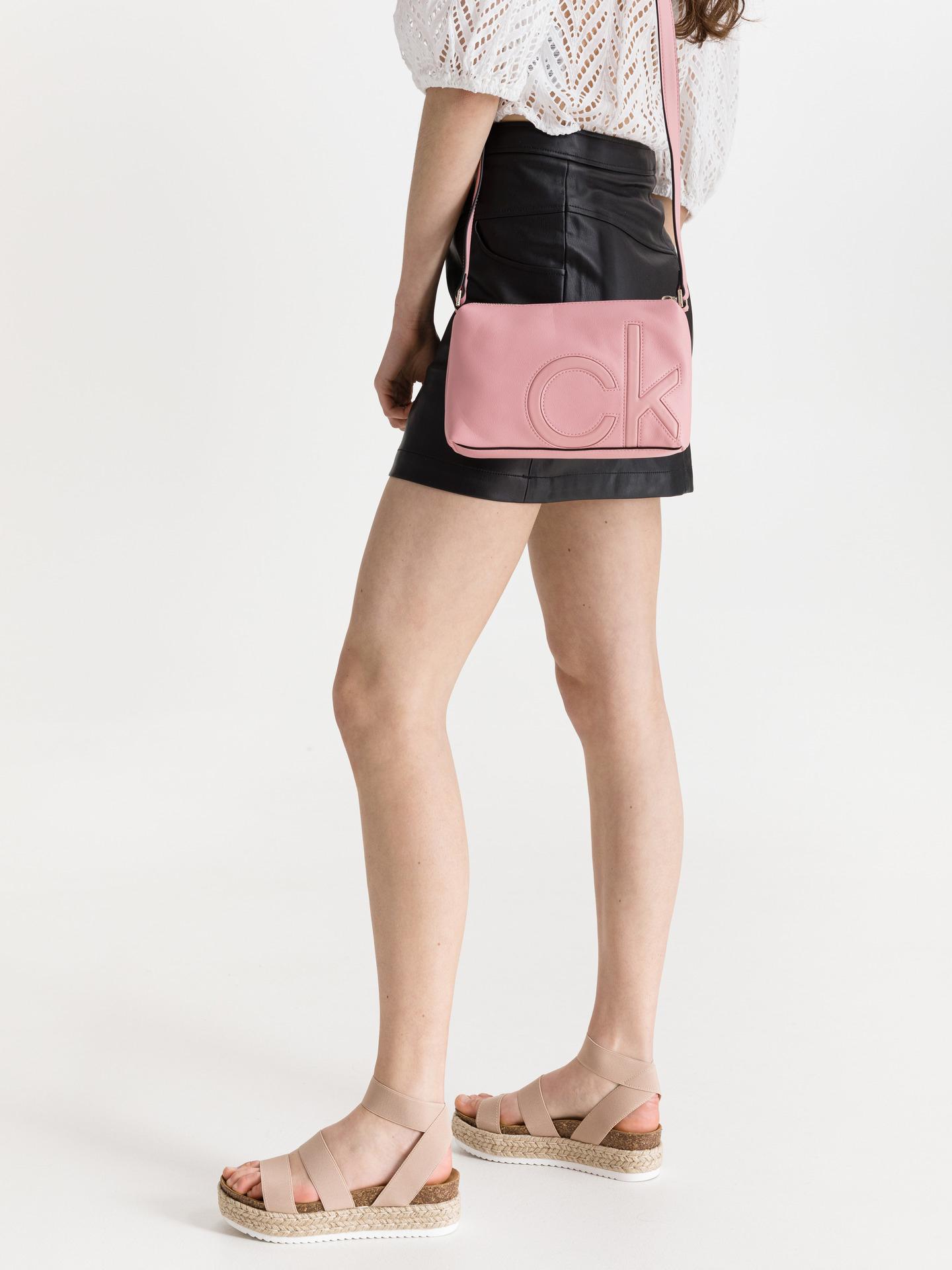 Calvin Klein pink crossbody bag