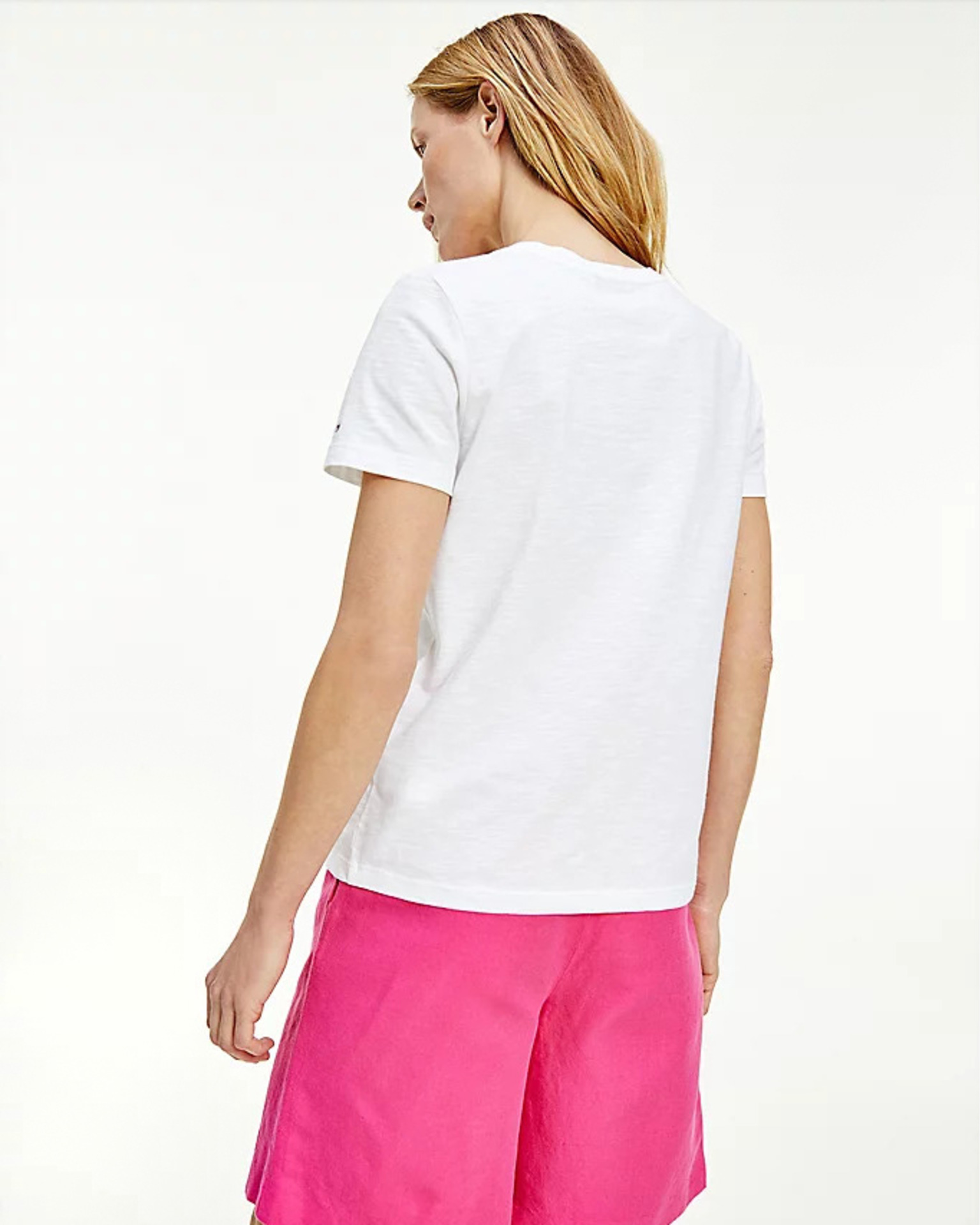 Tommy Hilfiger white women´s T-shirt Tee