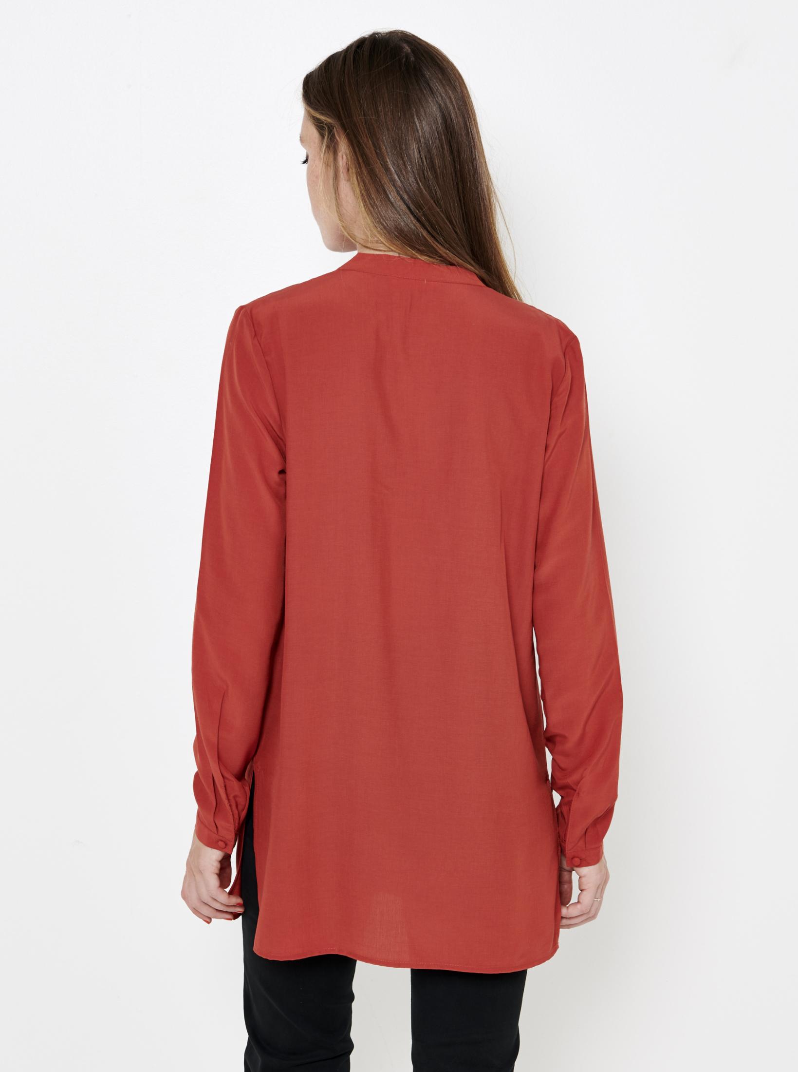 CAMAIEU Women's blouse coral