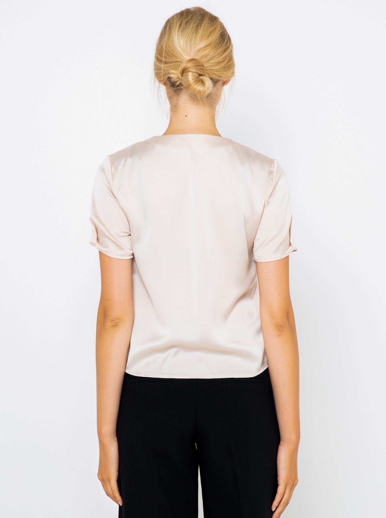 CAMAIEU cream / cream blouse