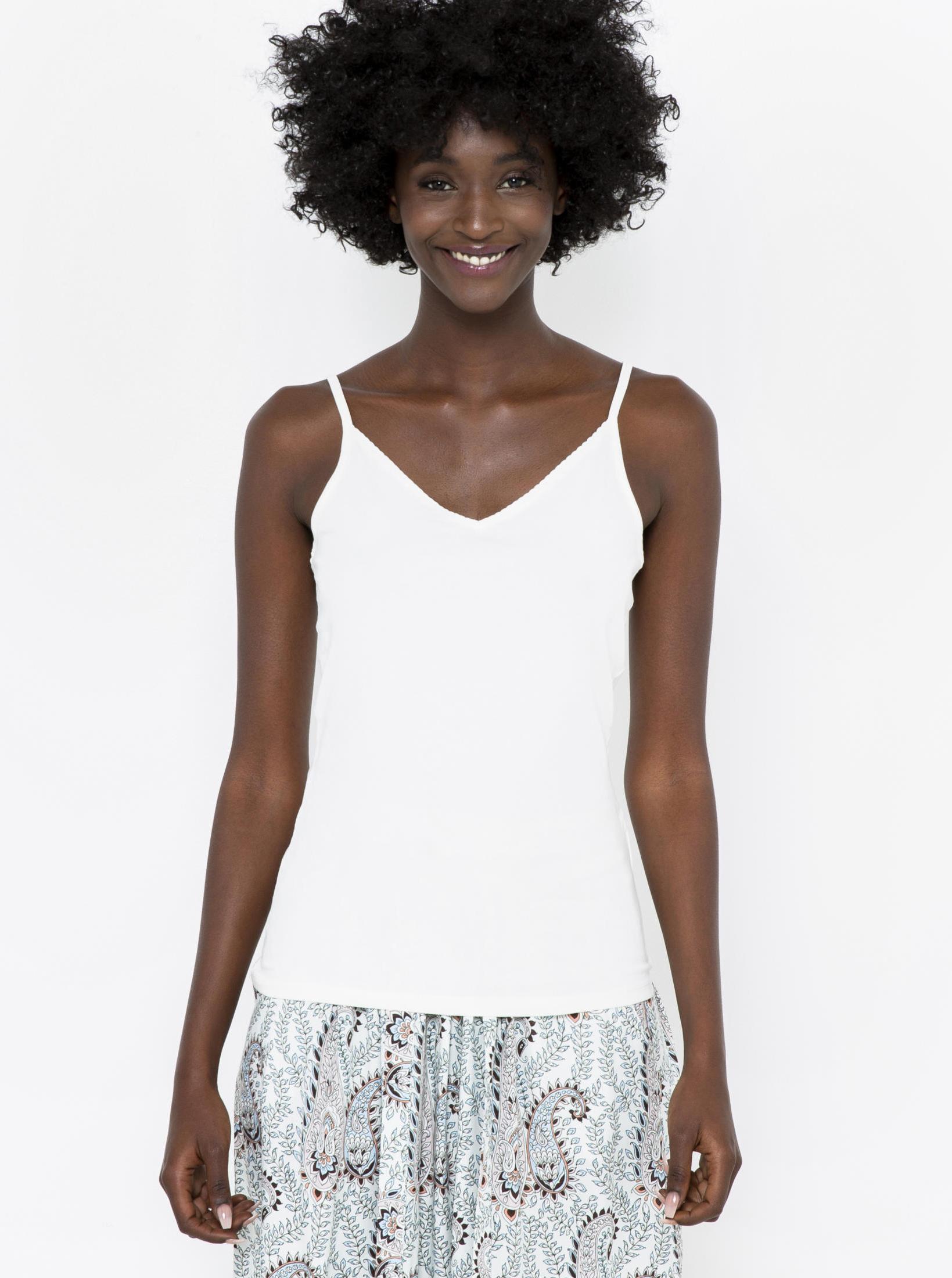 CAMAIEU white basic top
