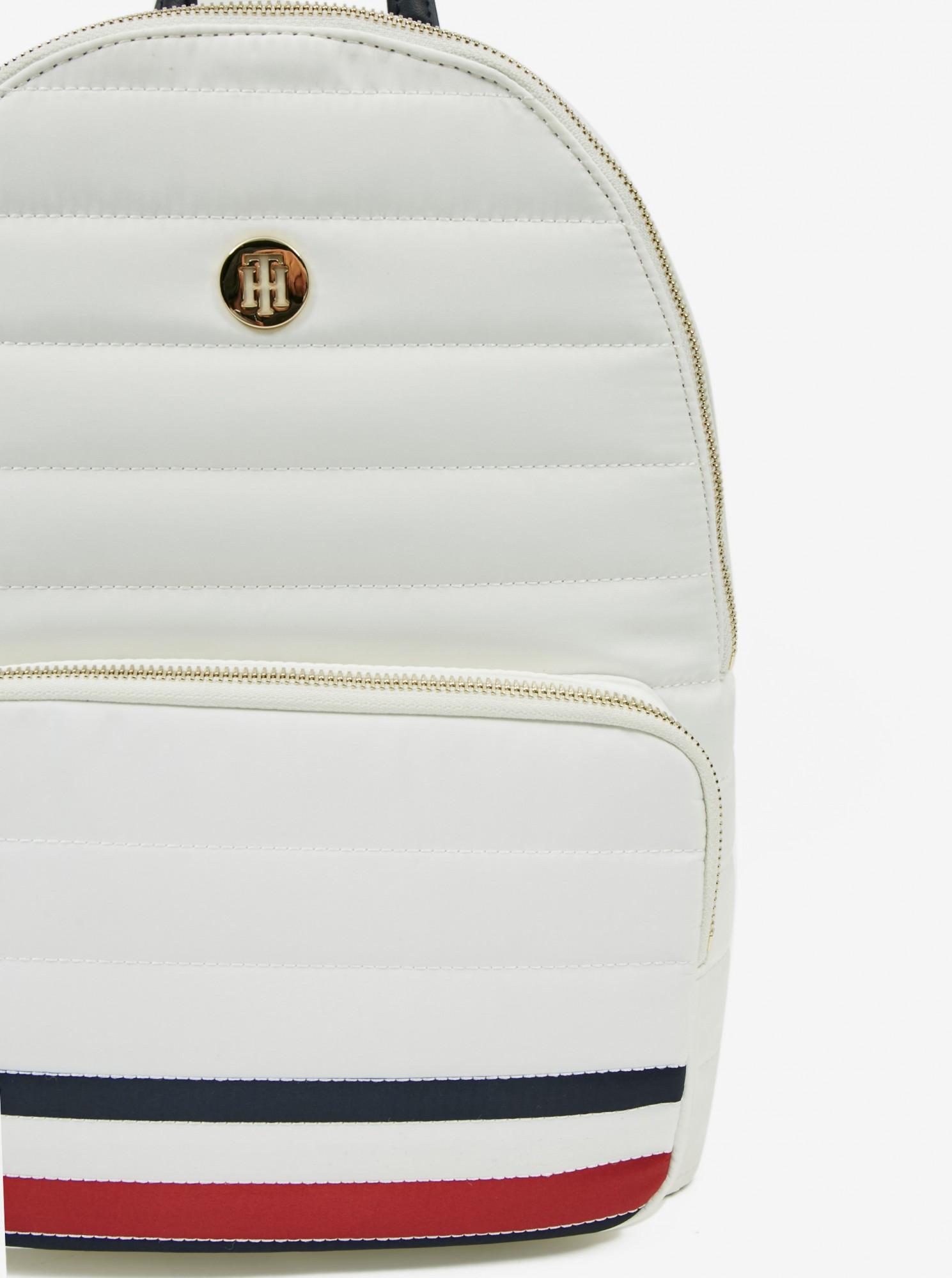 Tommy Hilfiger white backpack