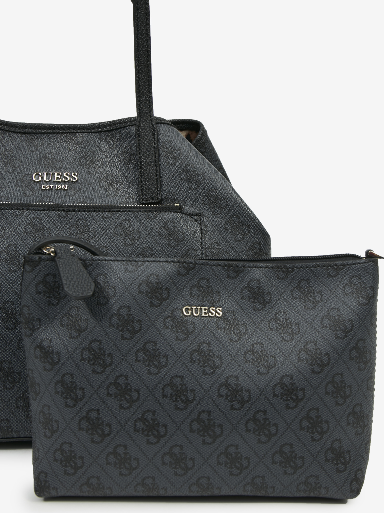 Guess black handbag Vikky Roo