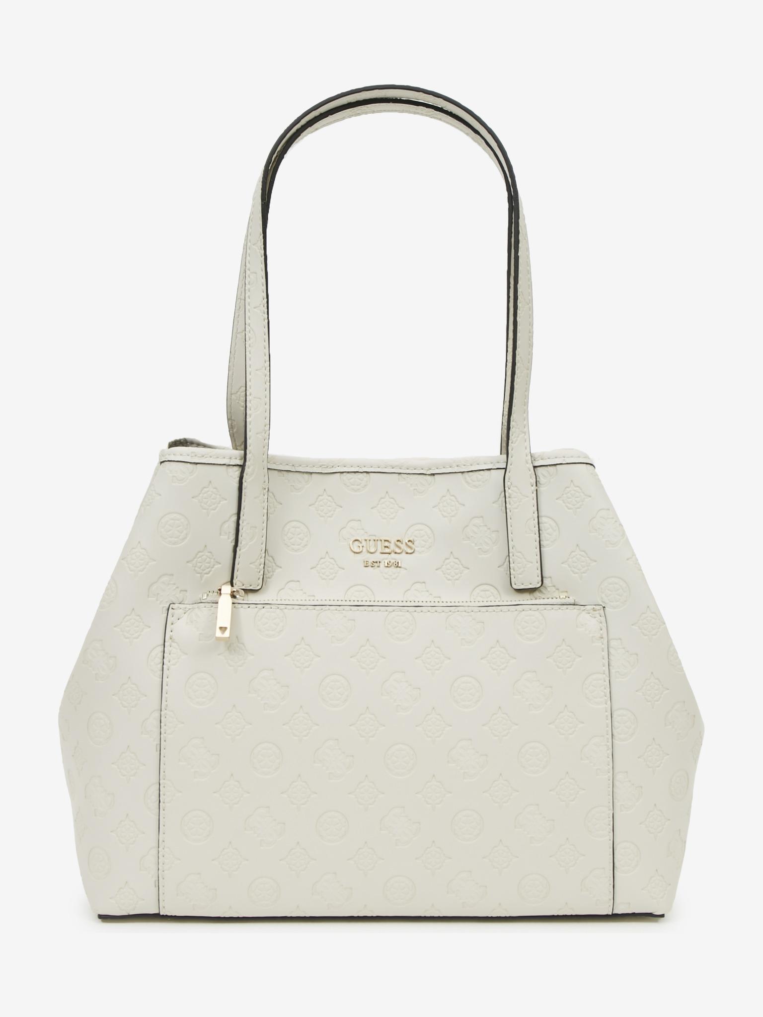 Guess white handbag Vikky Roo