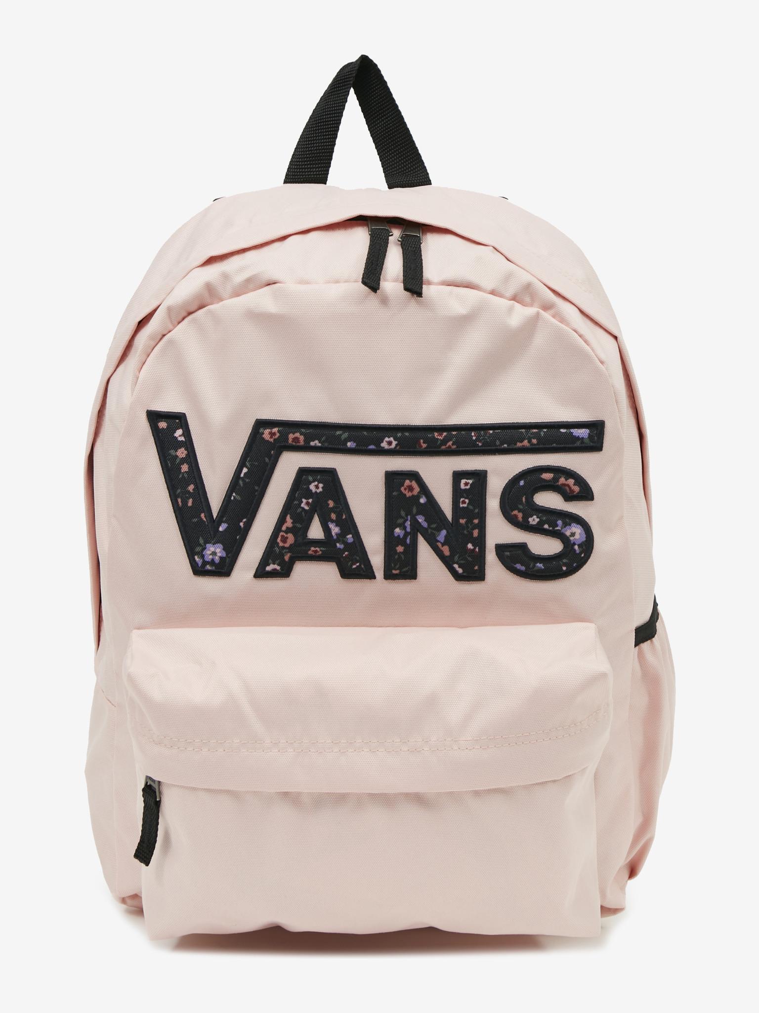 Vans pink backpack Realm Flying