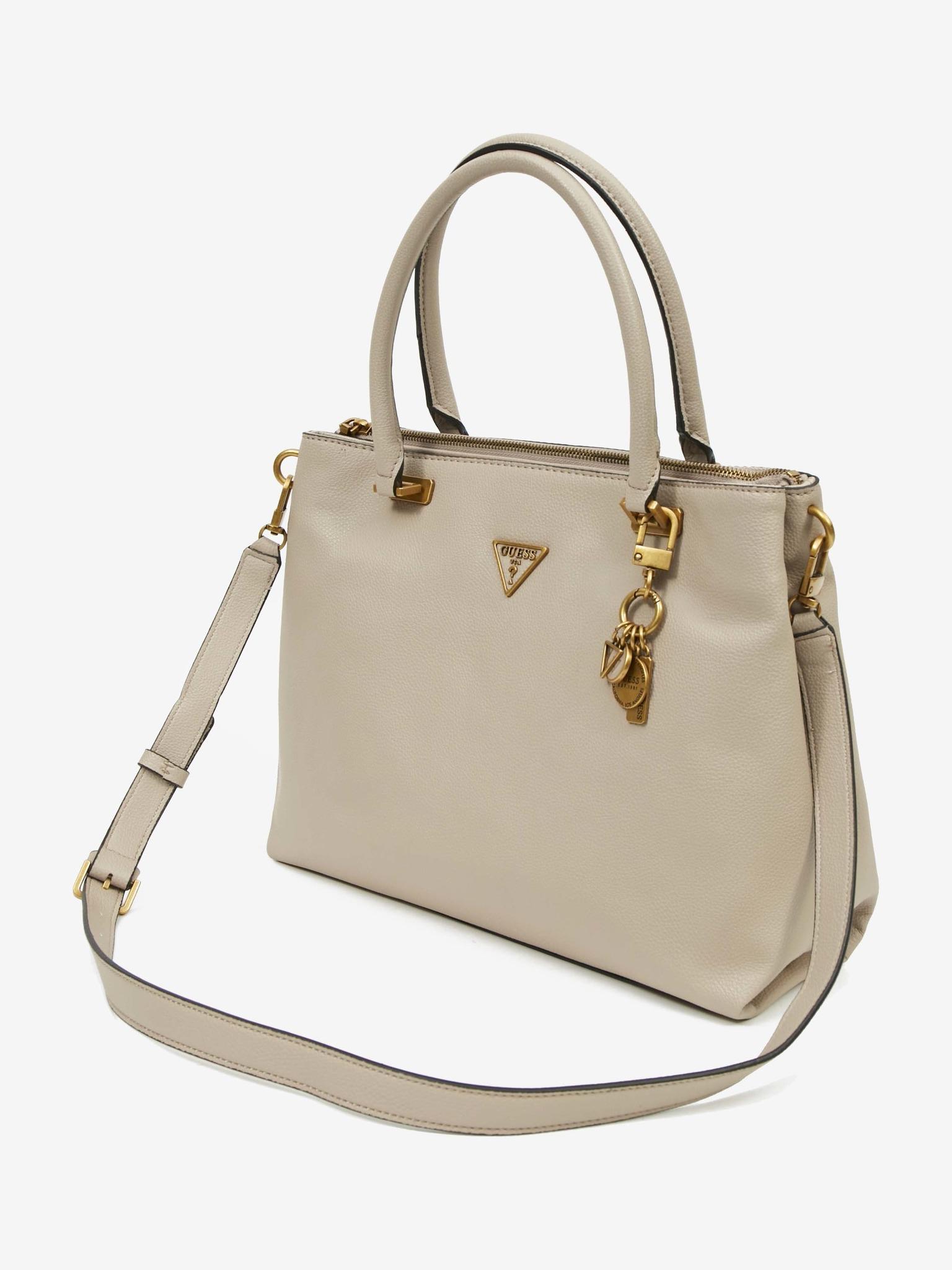 Guess beige handbag Destiny Society