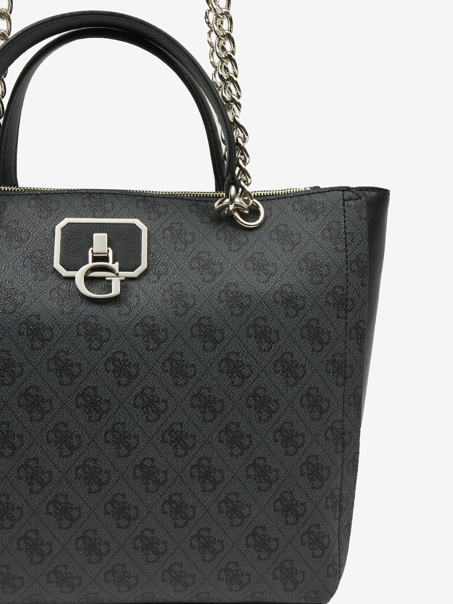 Guess black handbag Alisa Society