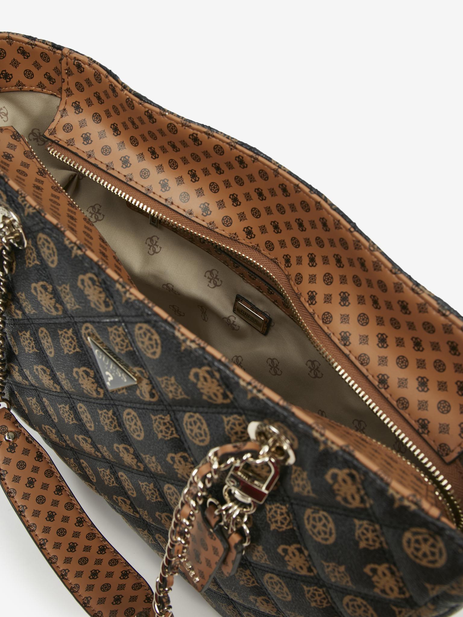 Guess brown handbag Cessily