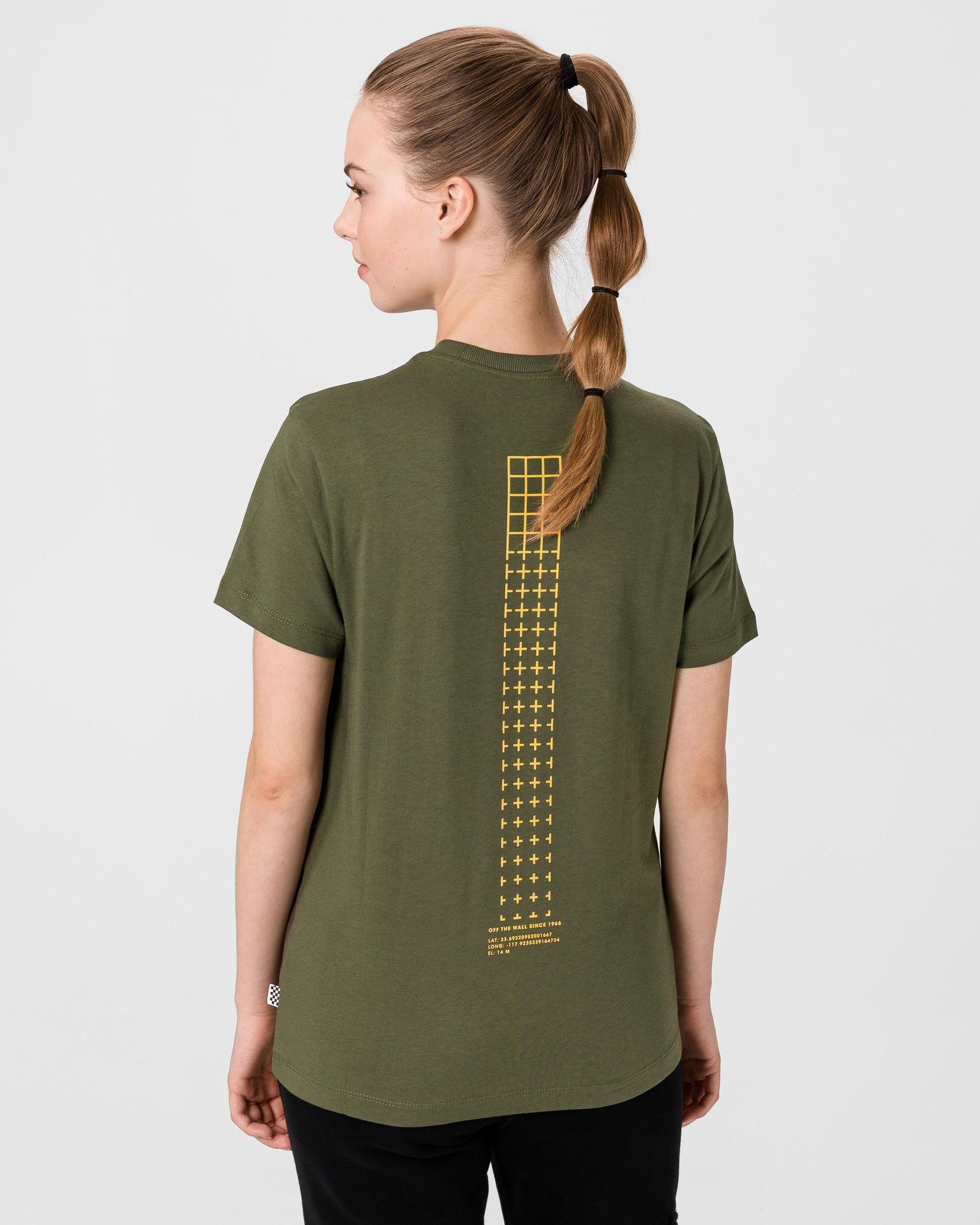 Vans green T-shirt 66 Supply Tri