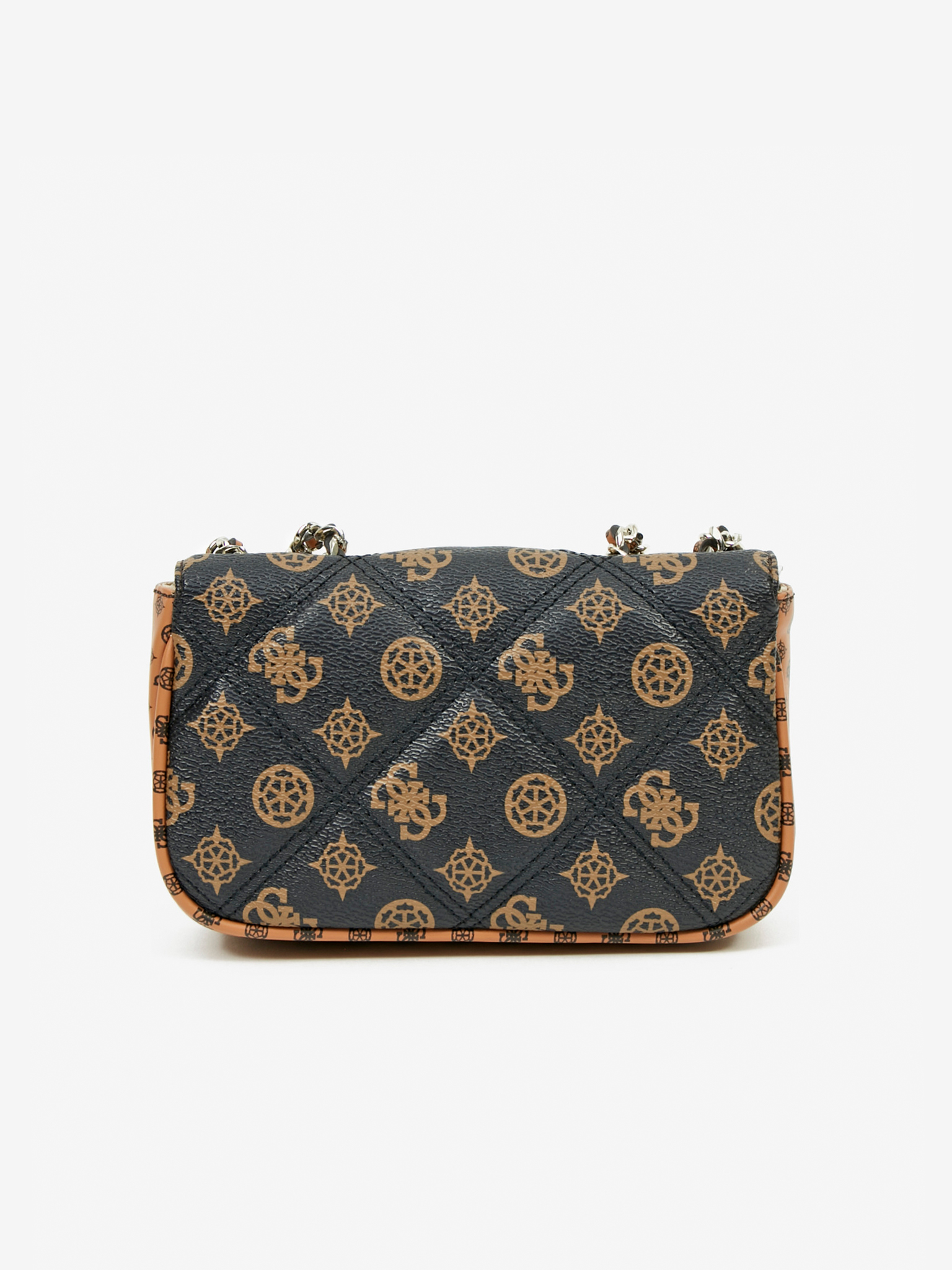 Guess brown crossbody handbag Cessily Micro Mini
