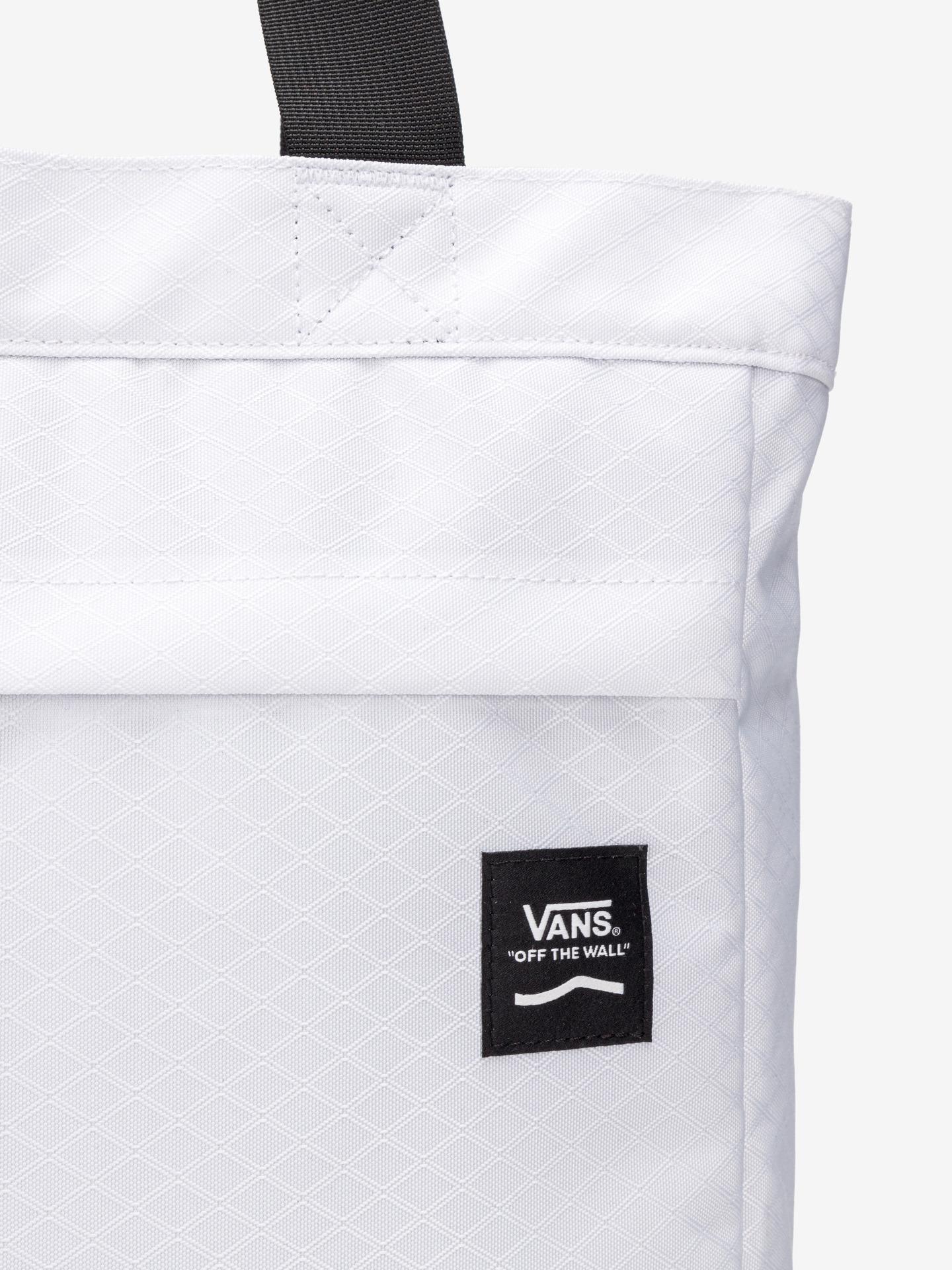 Vans white bag Construct