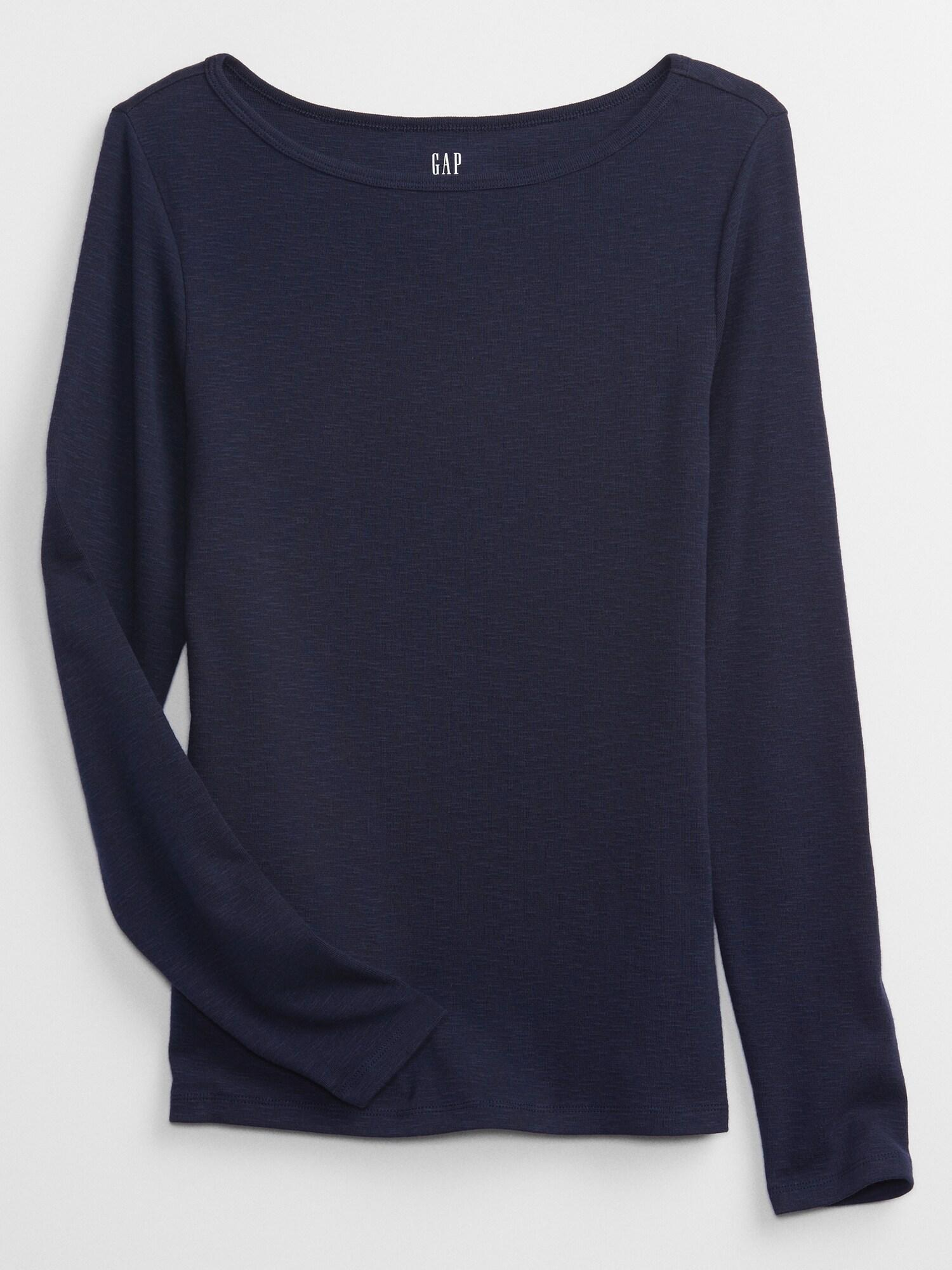 GAP Women's tops blue Basic