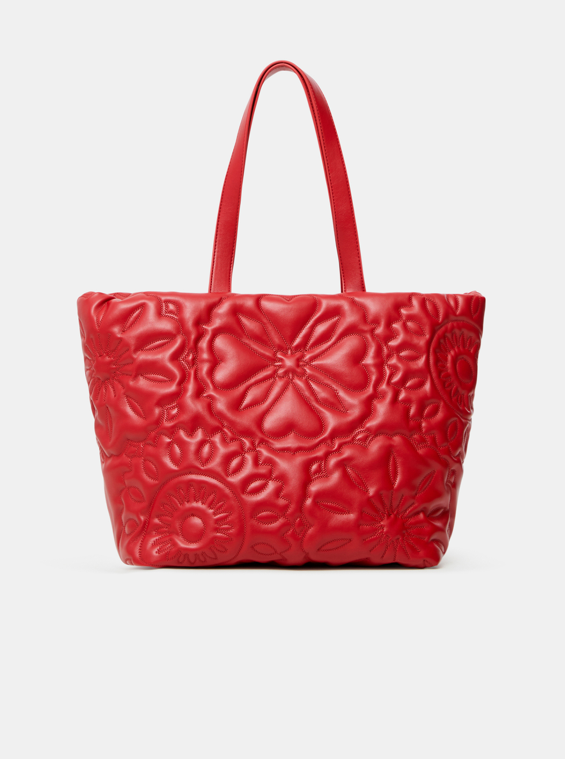 Desigual red handbag Big Big Bombay