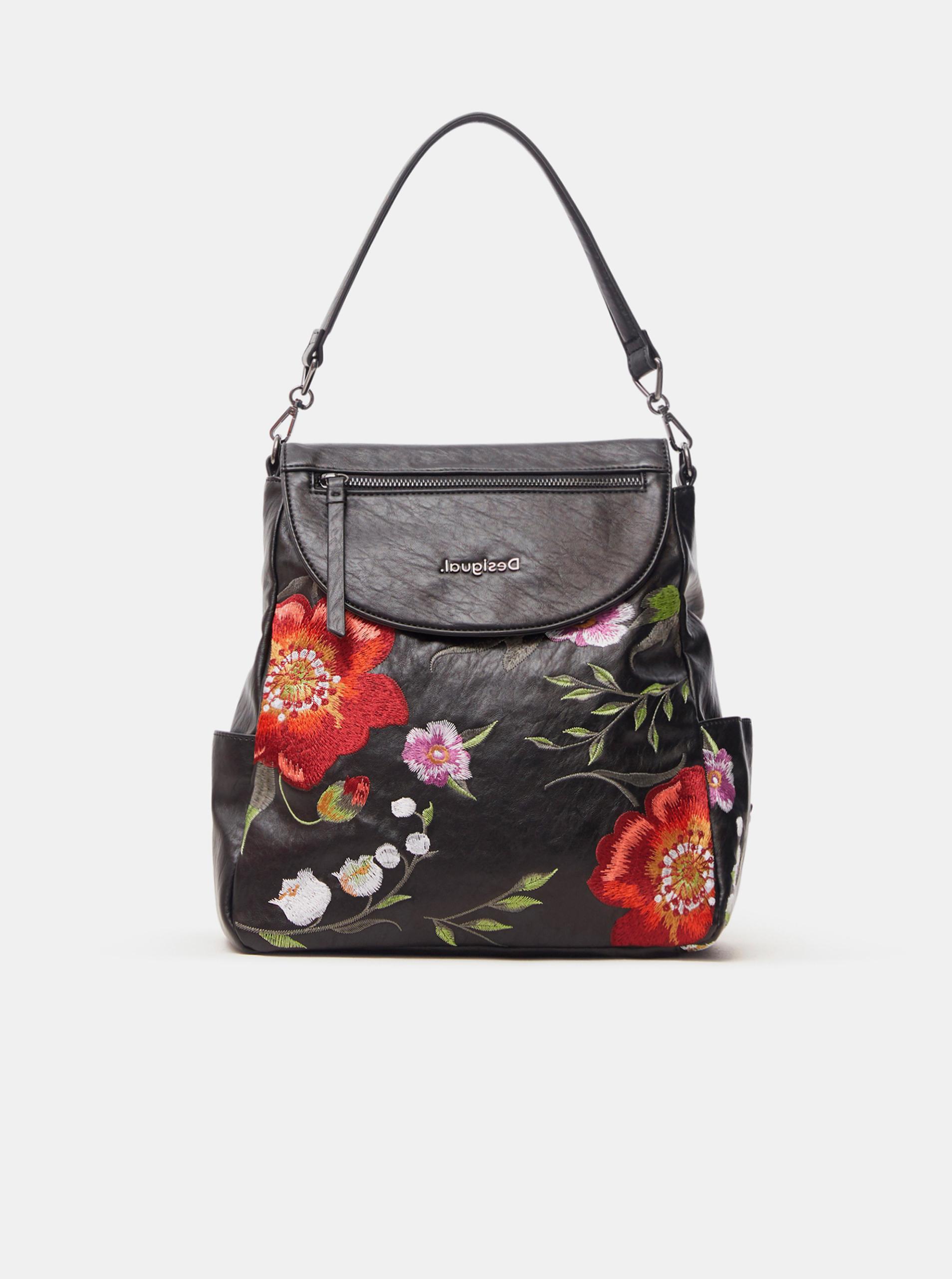 Desigual black backpack Niagara Positano