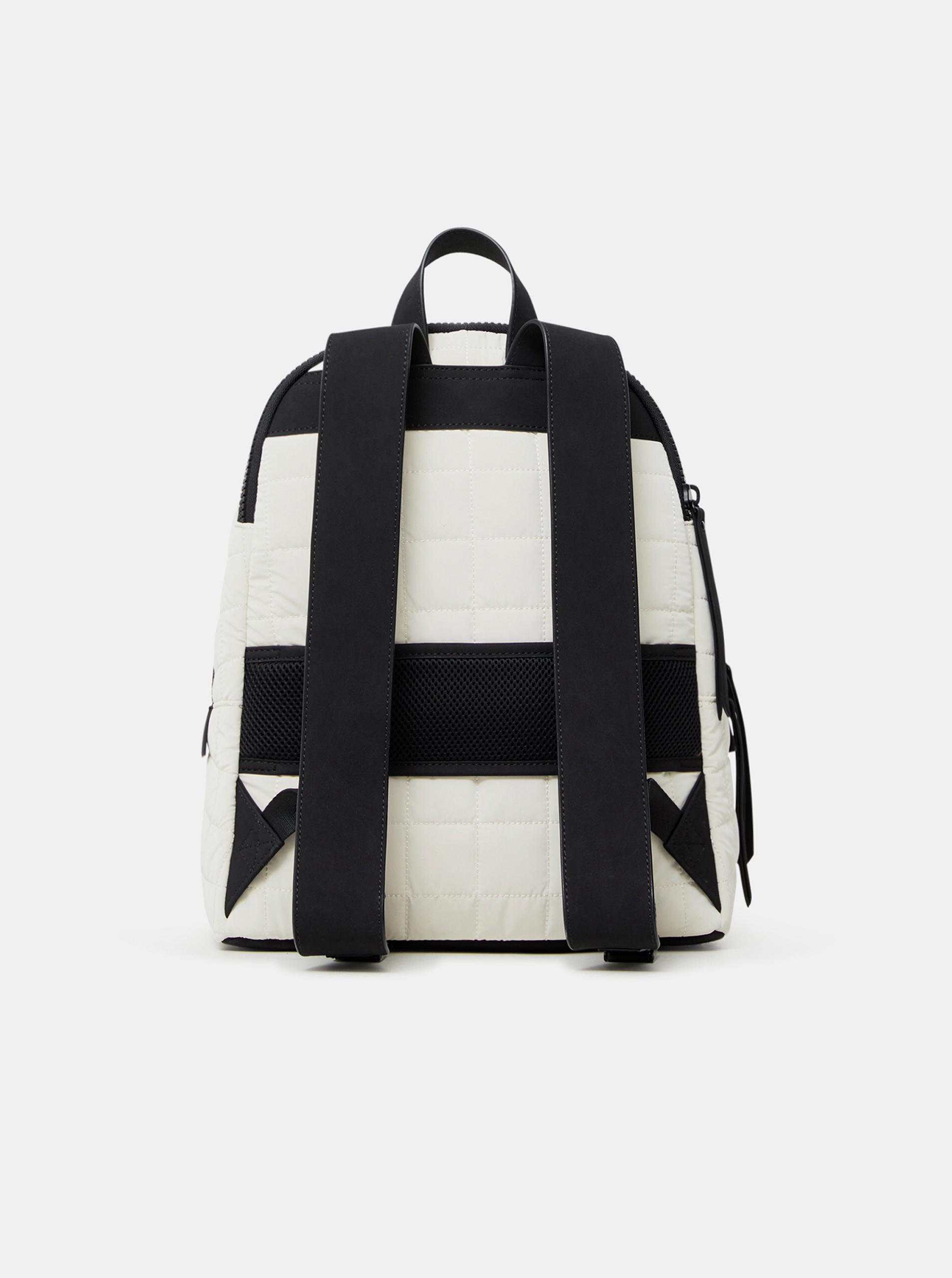 Desigual white backpack Cocoa Mombasa 2zippers