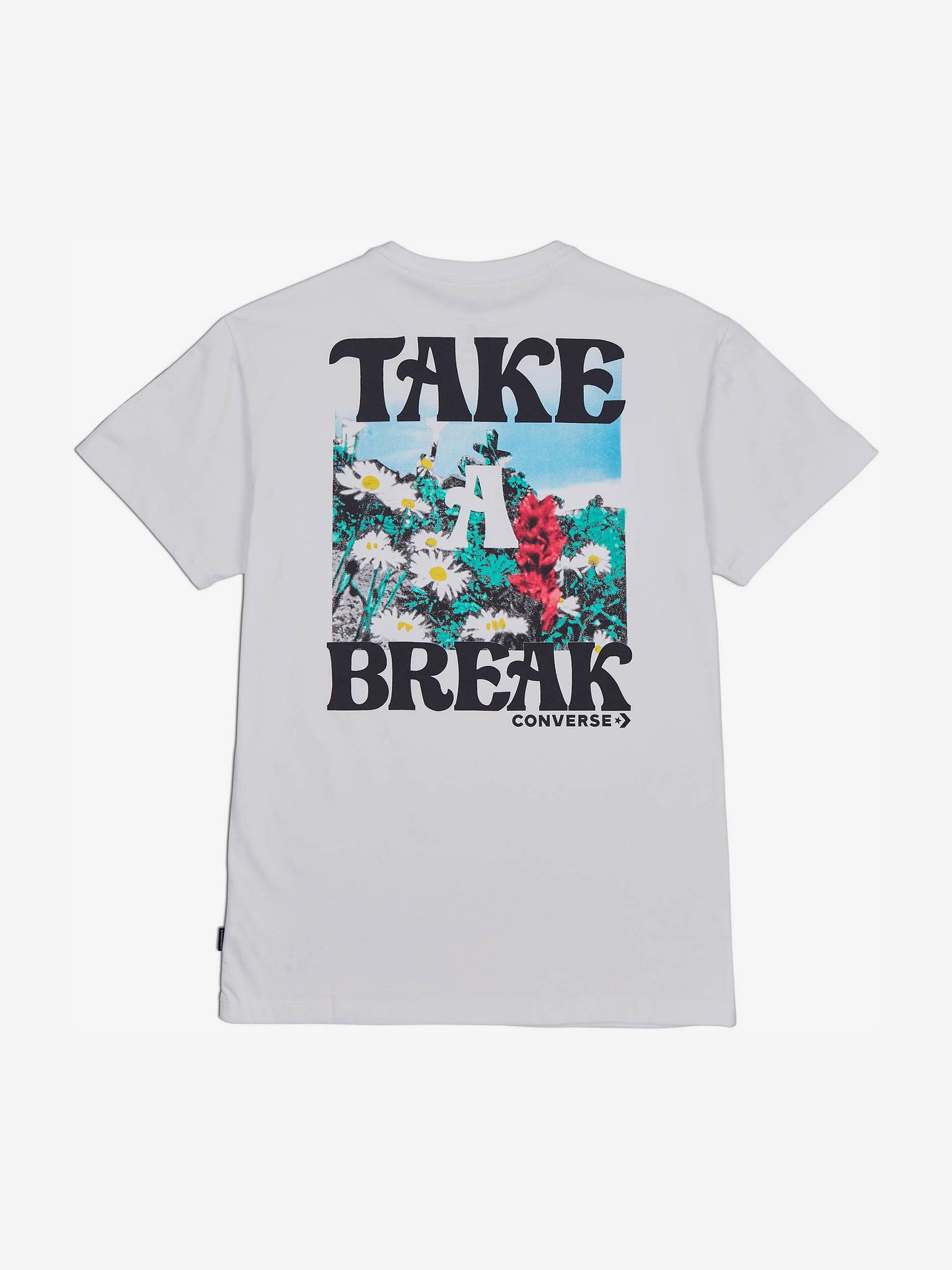 Converse Women's t-shirt white  The