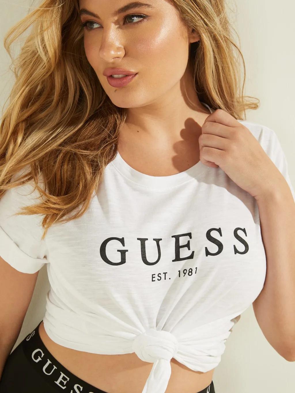 Guess Women's t-shirt white