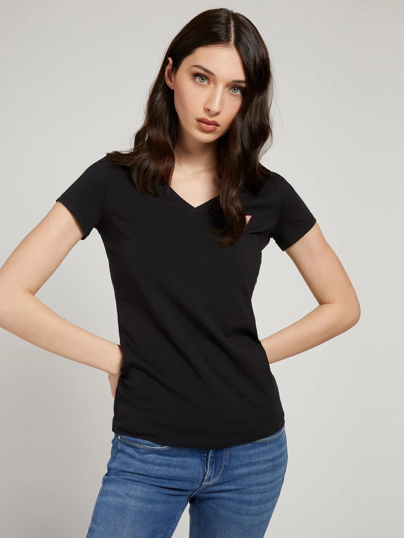 Guess Women's t-shirt black  Triangle