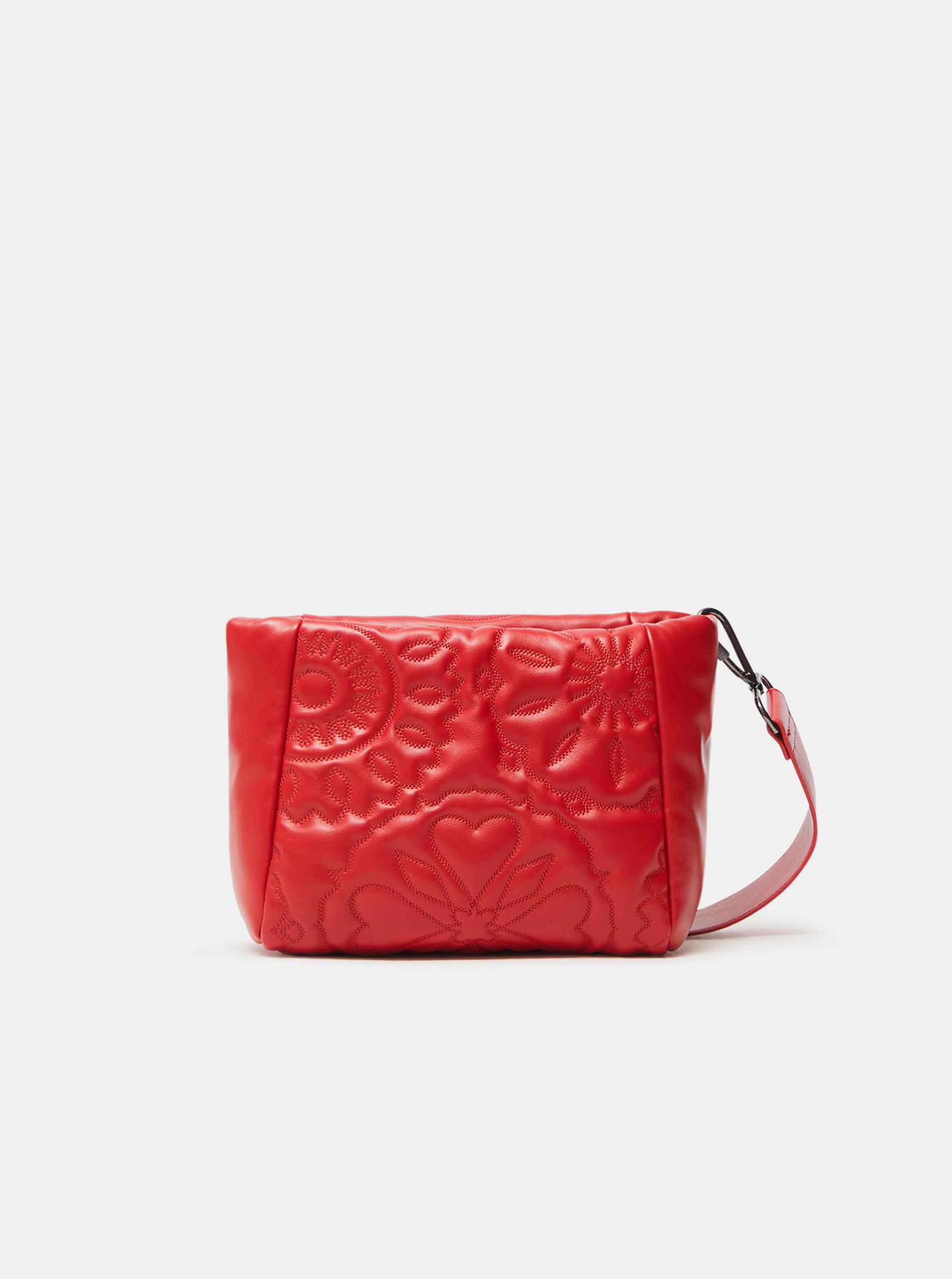 Desigual Women's bag red  Big