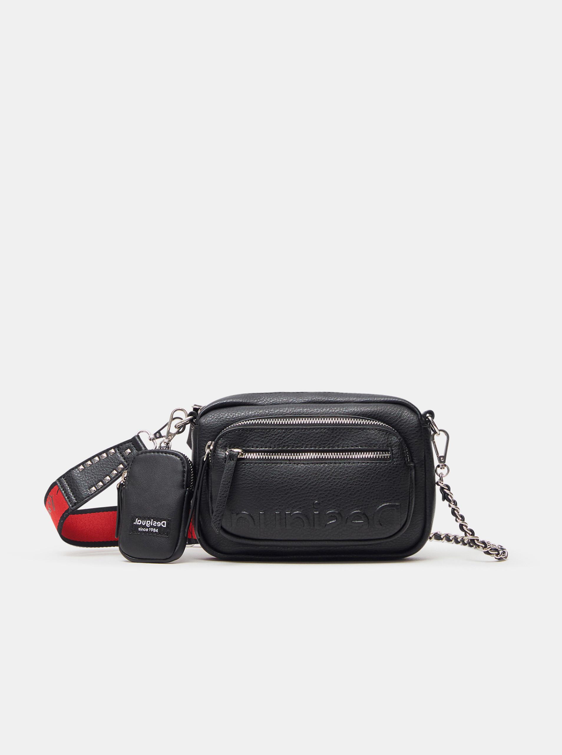 Desigual Women's bag black  Embossed