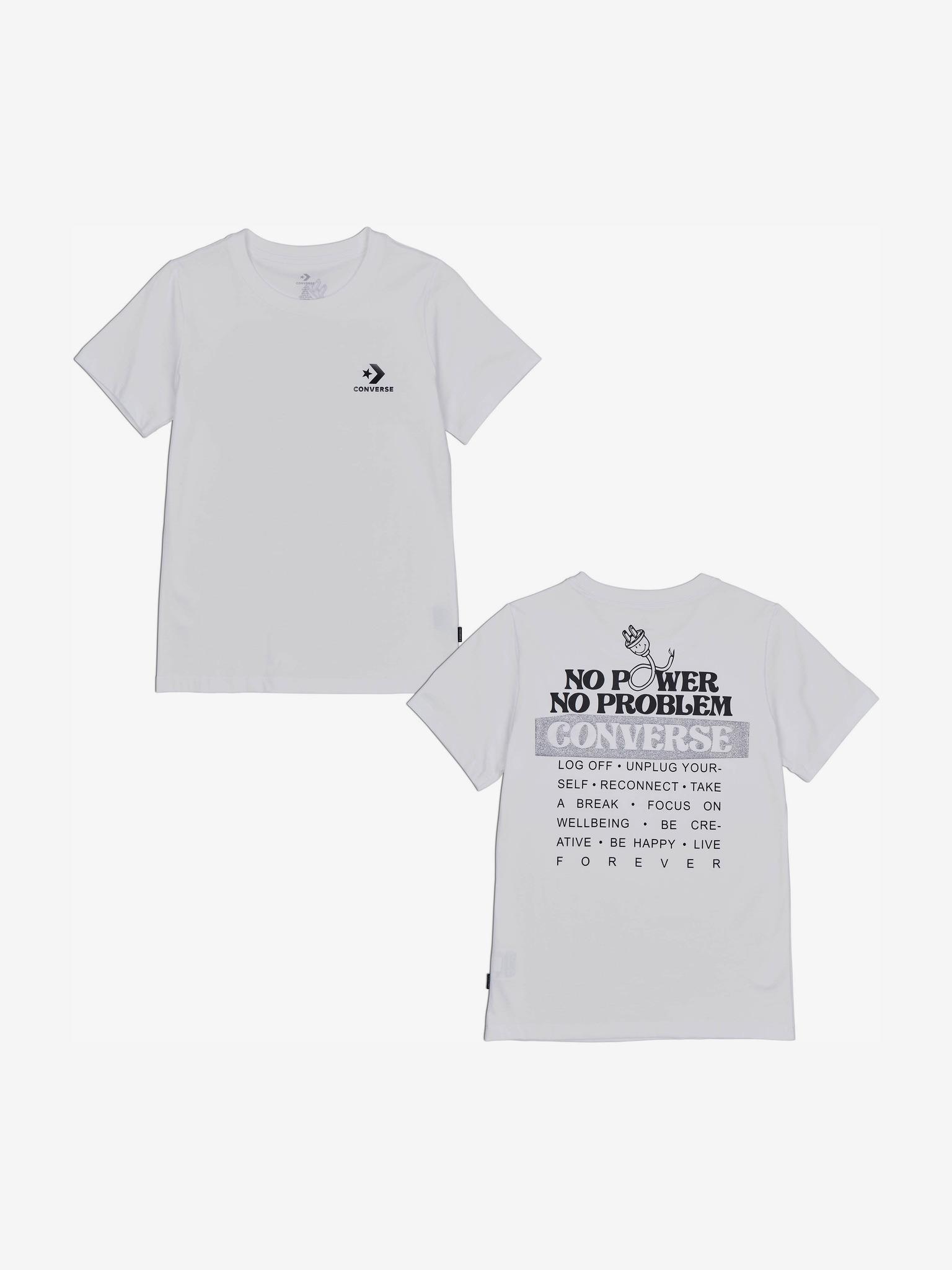 Converse Women's t-shirt white  Off