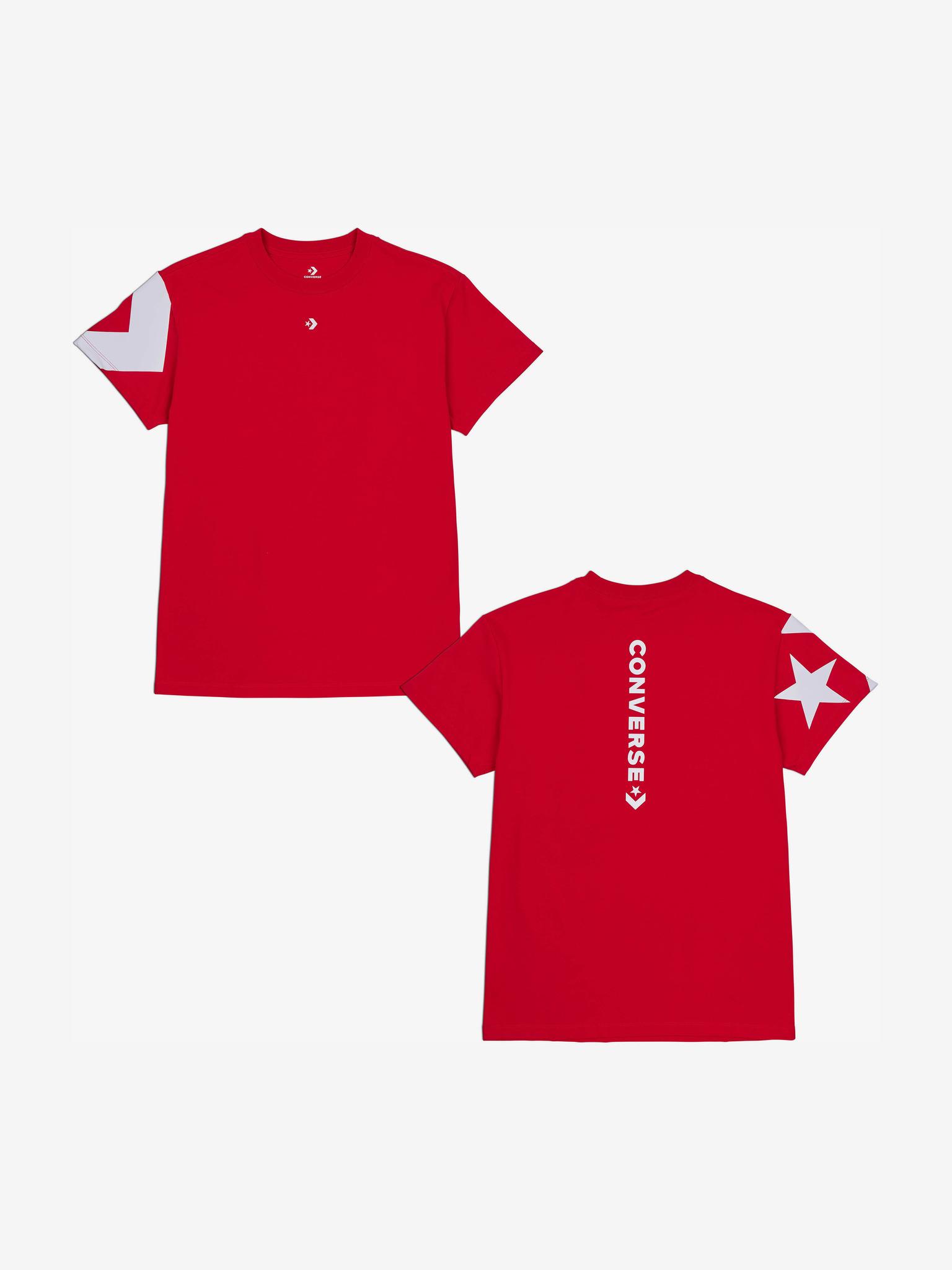 Converse Women's t-shirt red  Star