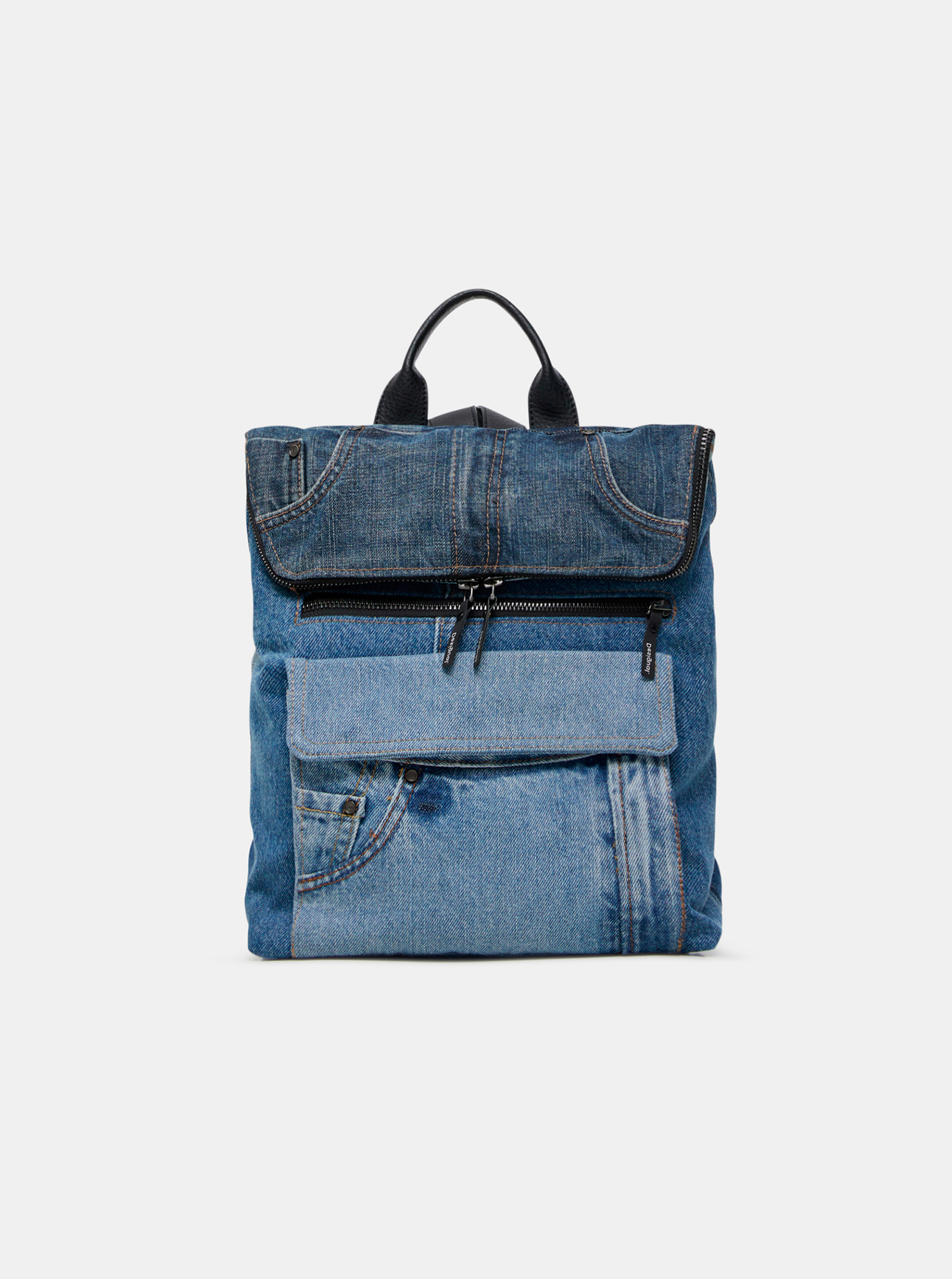 Desigual Women's backpack blue  Denim
