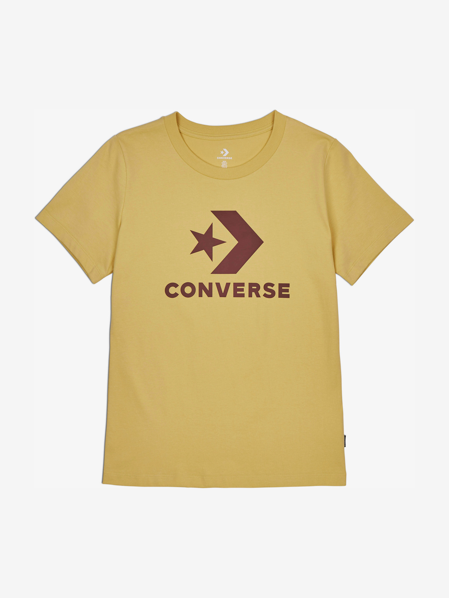 Converse Women's t-shirt yellow  Star