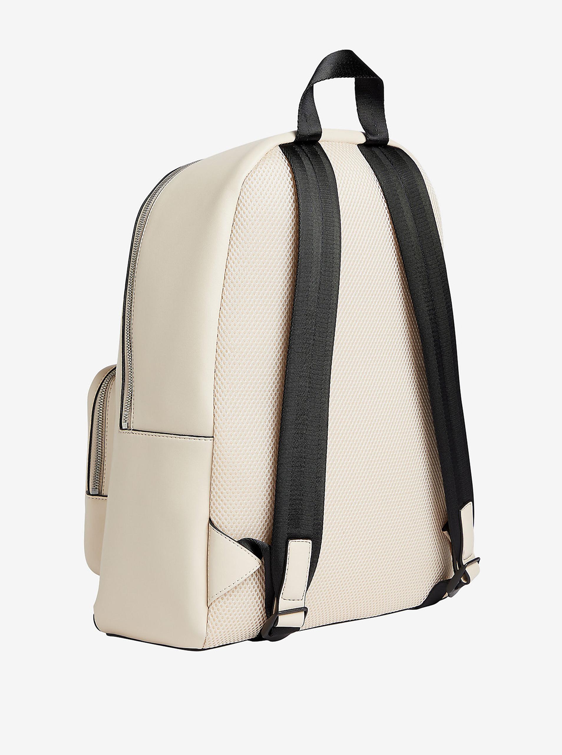 Calvin Klein cream / cream backpack