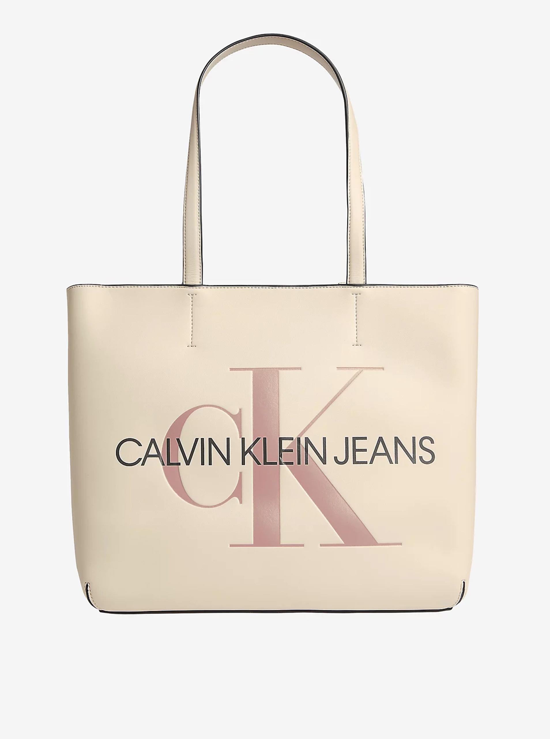 Calvin Klein cream / cream shopper