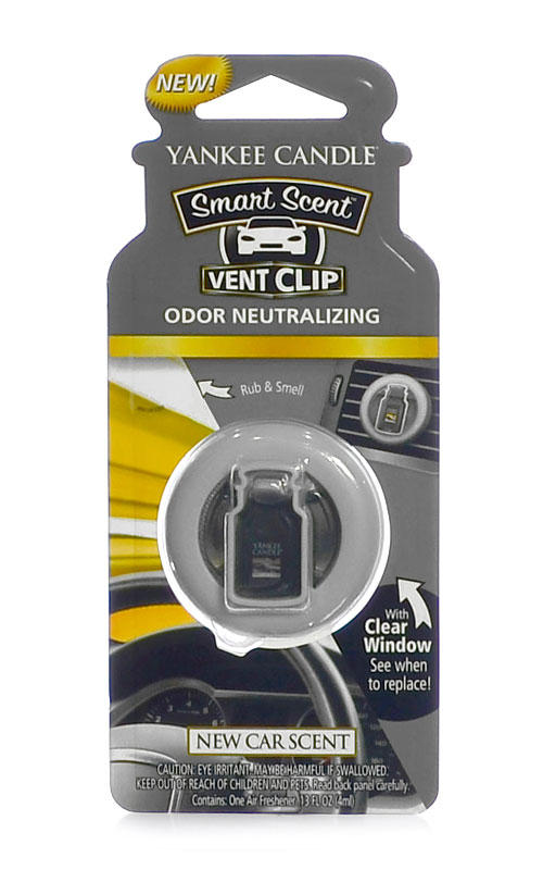 Yankee Candle fragrant clip to New Car Scent ventilation