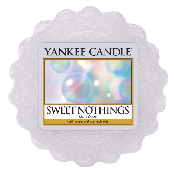 Yankee Candle fragrance wax to Sweet Nothings aroma