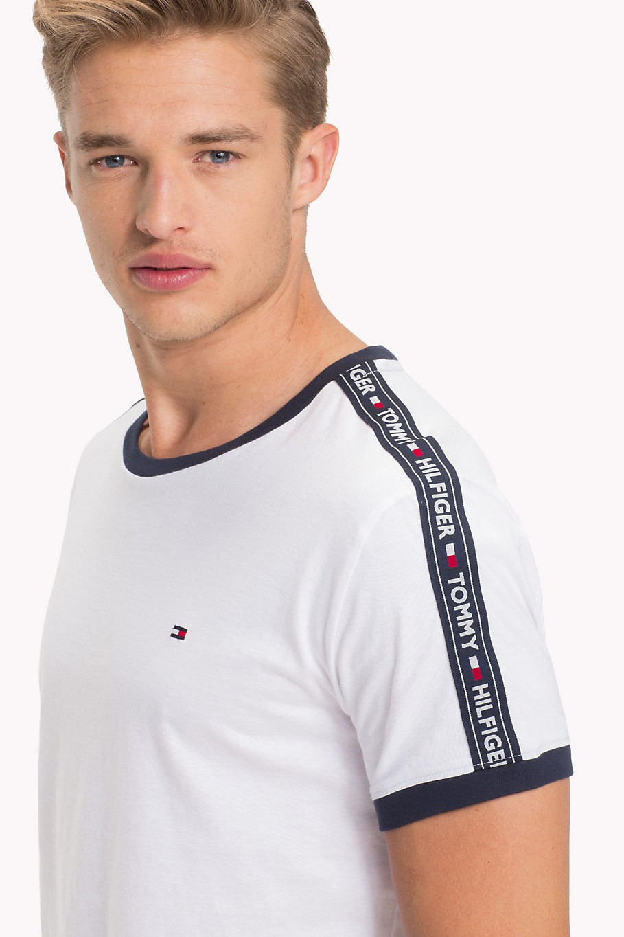 Tommy Hilfiger white men's t-shirt RN Tee SS