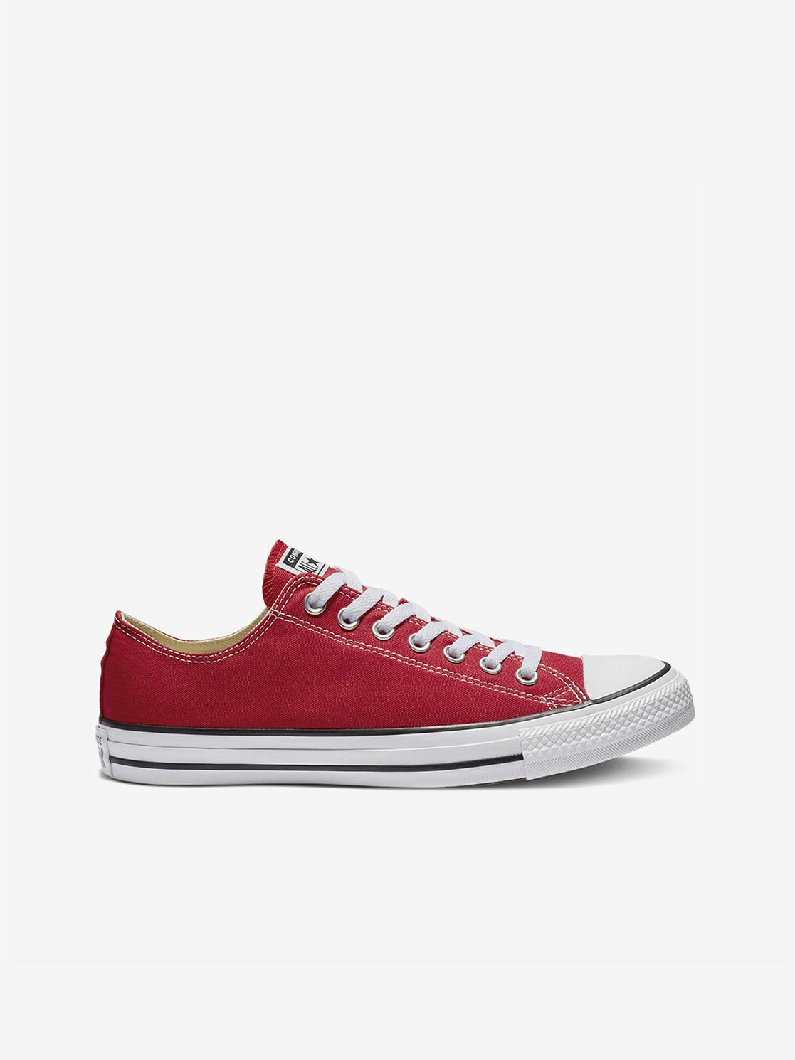 Regeneración Mal entonces  Converse Red Unisex Sneakers Chuck Taylor All Star Classic Colors - Women´s  shoes • Differenta.com