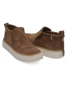5c68e1907e9 Toms brown leather boots Paxton Dark Amber Suede Water Resistant ...