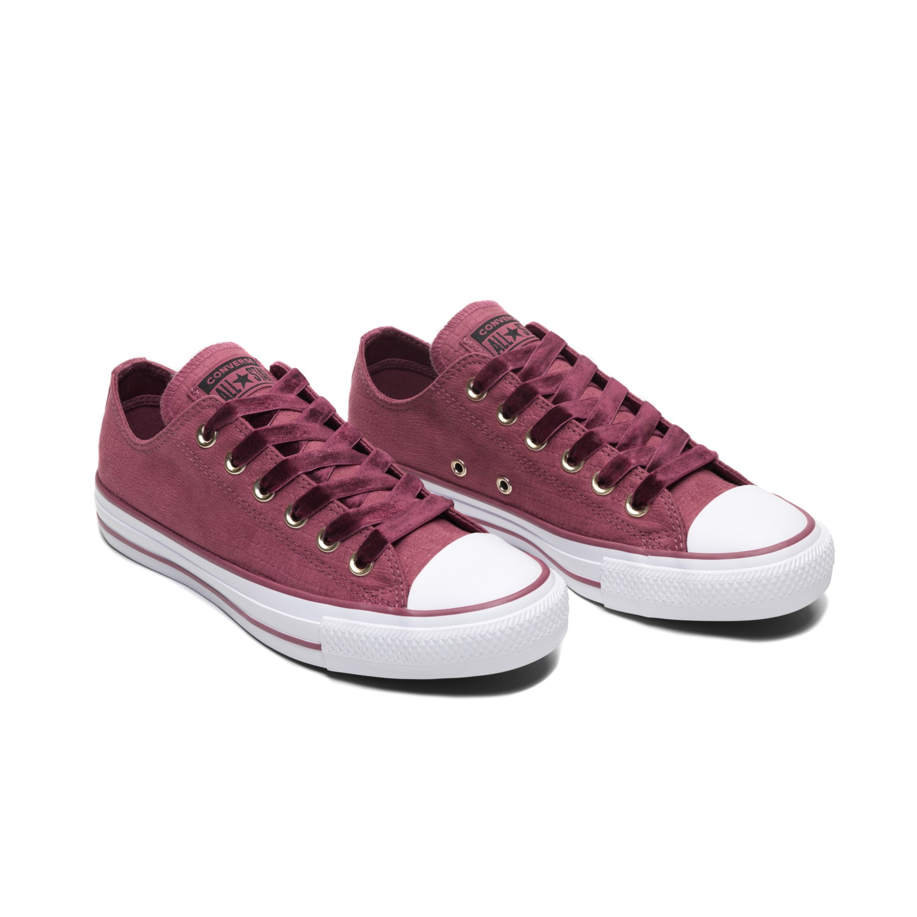 4b69be347d3d Converse Chuck Taylor All Star OX Vintage Wine Sneakers - Women´s shoes •  Differenta.com