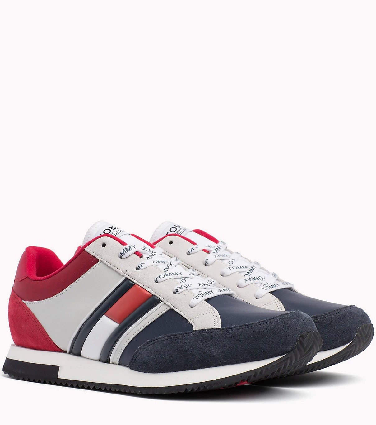 942414439 Tommy Hilfiger color Casual Retro Sneaker RWB Unisex Sneakers ...