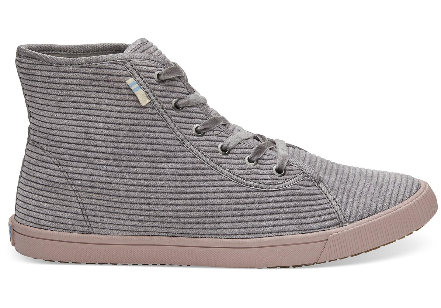 low priced d7a1b d3822 Toms gray sneakers Camarillo Cement Corduroy